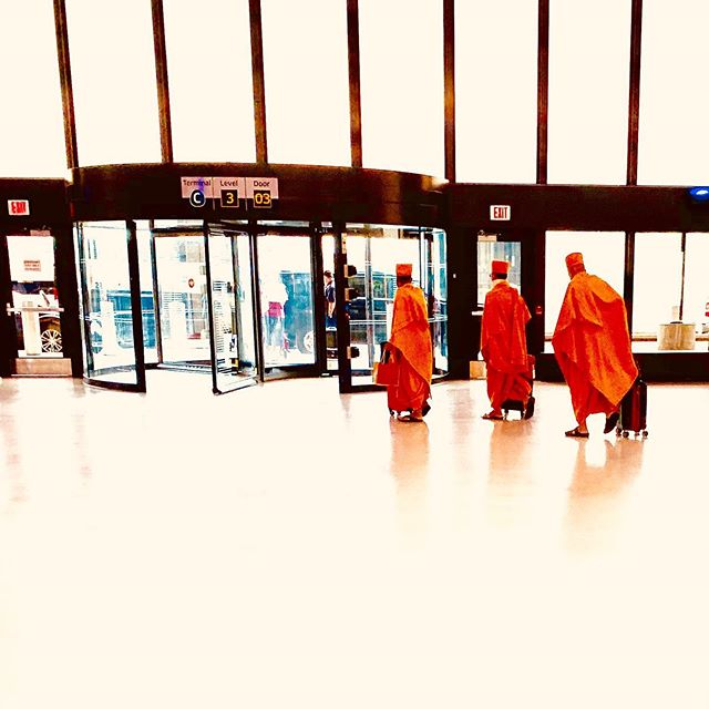 Monday travels... and the story of the three monks.