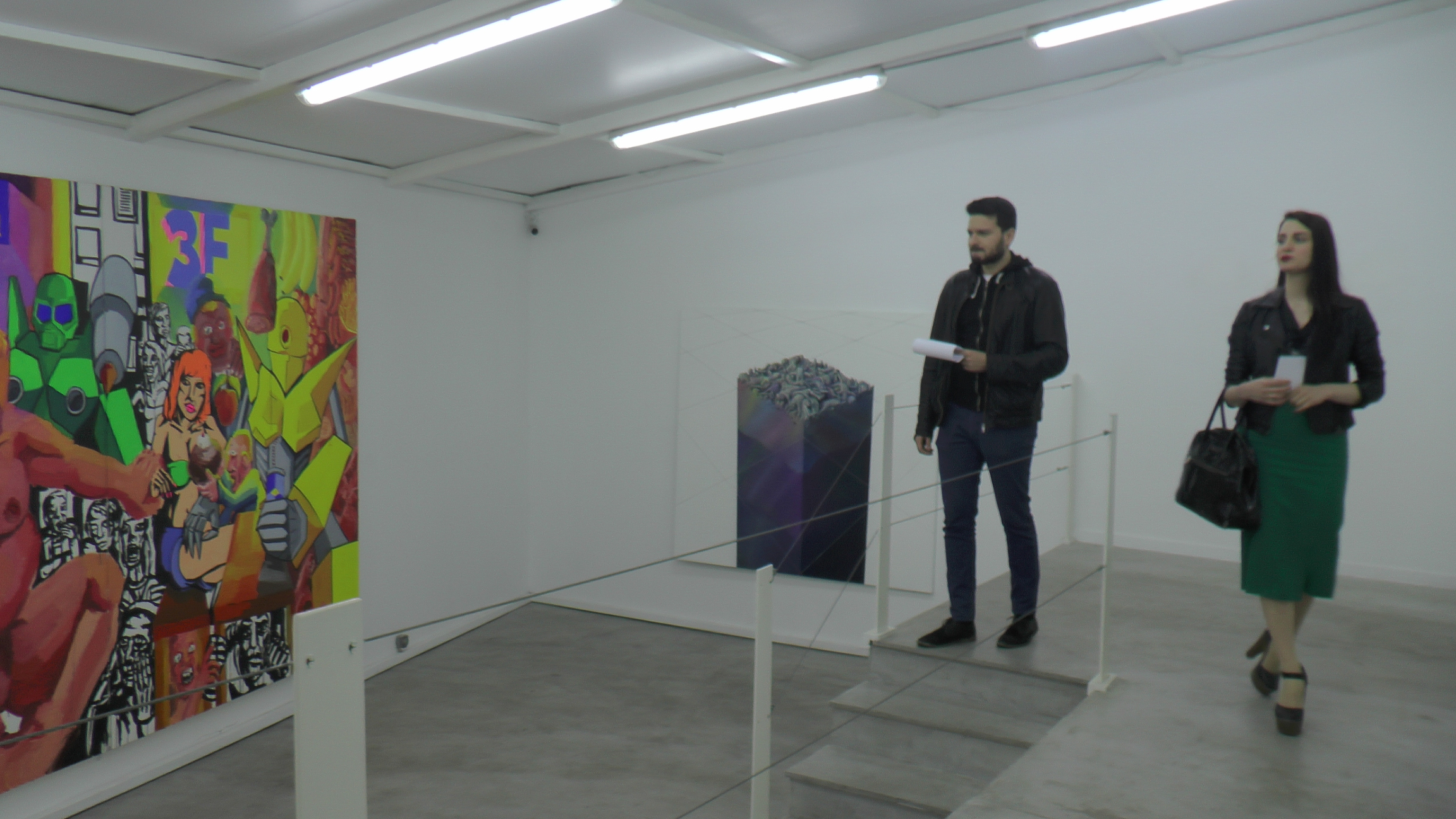 Lykourgos Porfyris  BAD PAINTING  Group exhibition at BETON7  March 23 - March 6, 2015