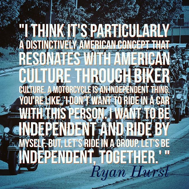 Let's be independent together. #motorcycle #quotes #ridingtoserve #america