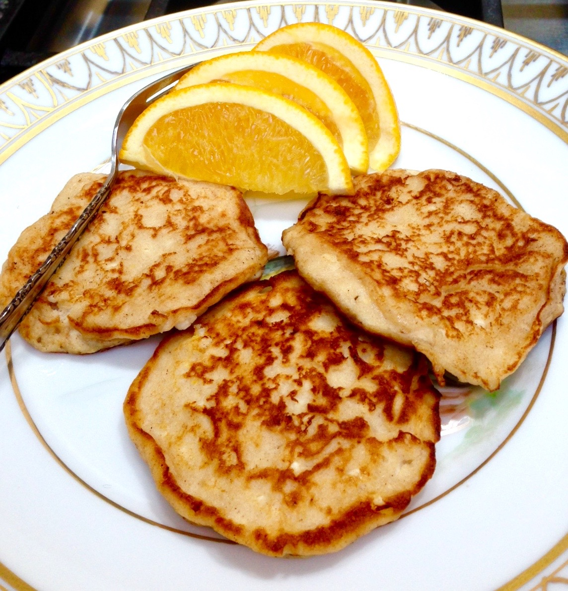 Matzo Cheese Pancakes