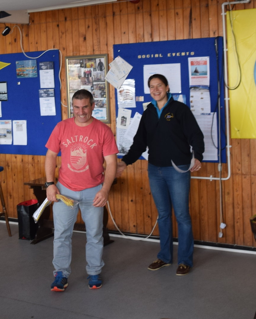 2nd - Stuart Turner (Laser Radial)