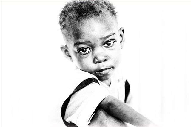 Take me to the stars. Photographed by Ruben Latre #director #photographer #blackandwhite #photography #Mirebalais #Haiti #childhood #portraitphotography #facesofinstagram #travelphotography