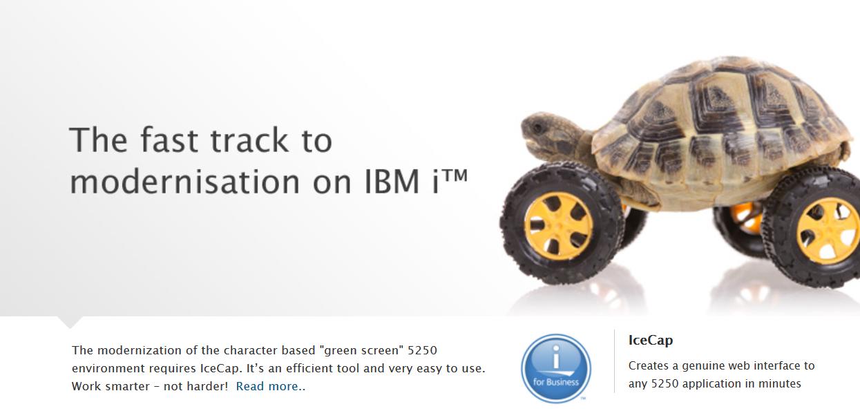IBM i AS/400 GUI