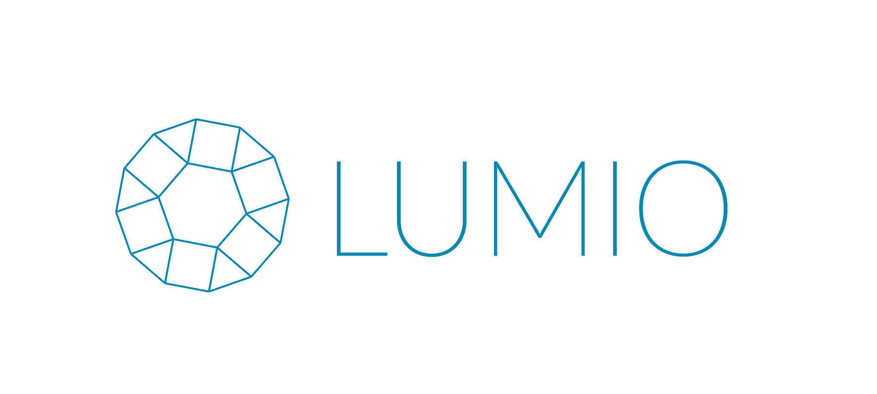 Logo for Lumio, an online bank