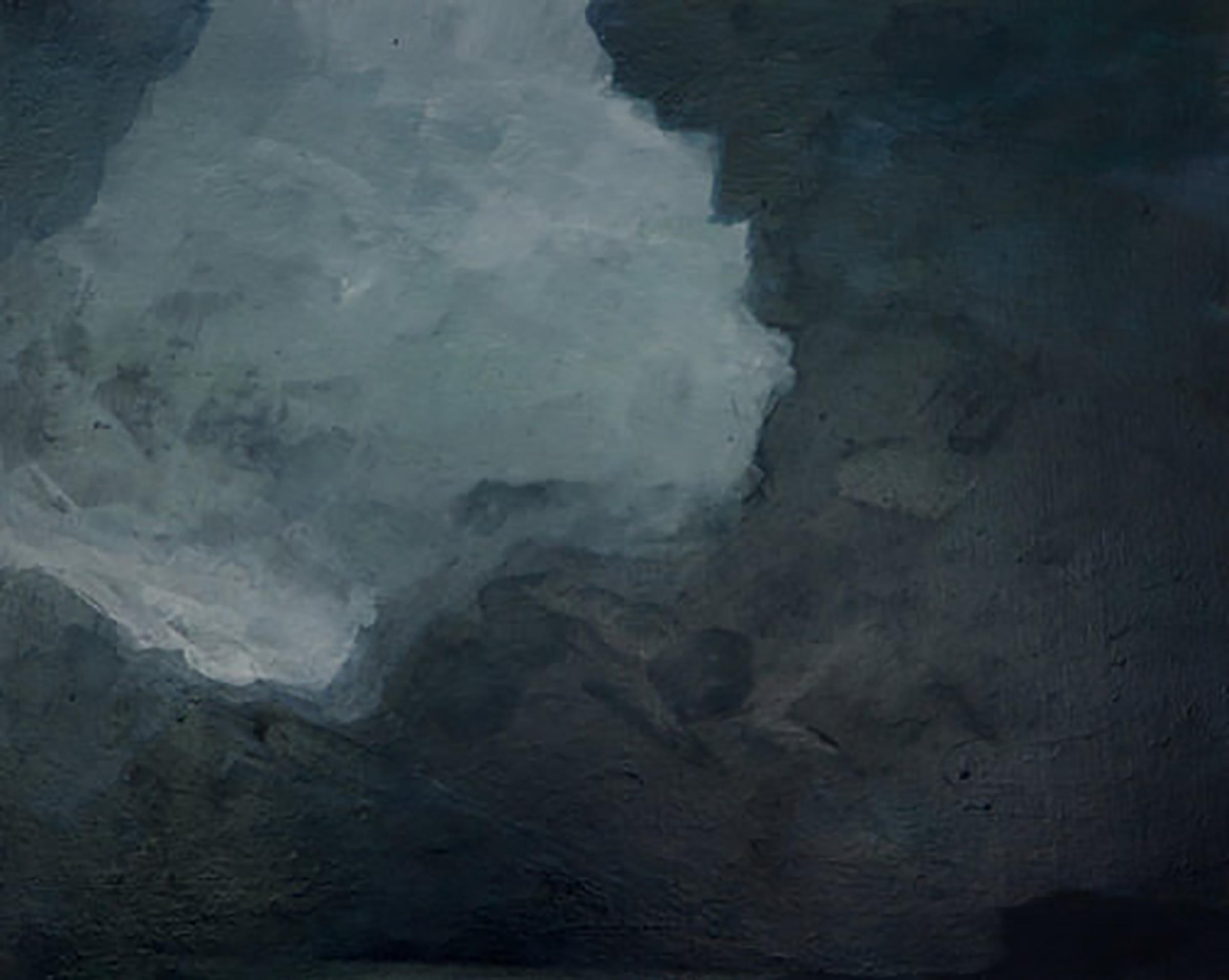"GROTTO 3  ( 24x30"" ) 2009"