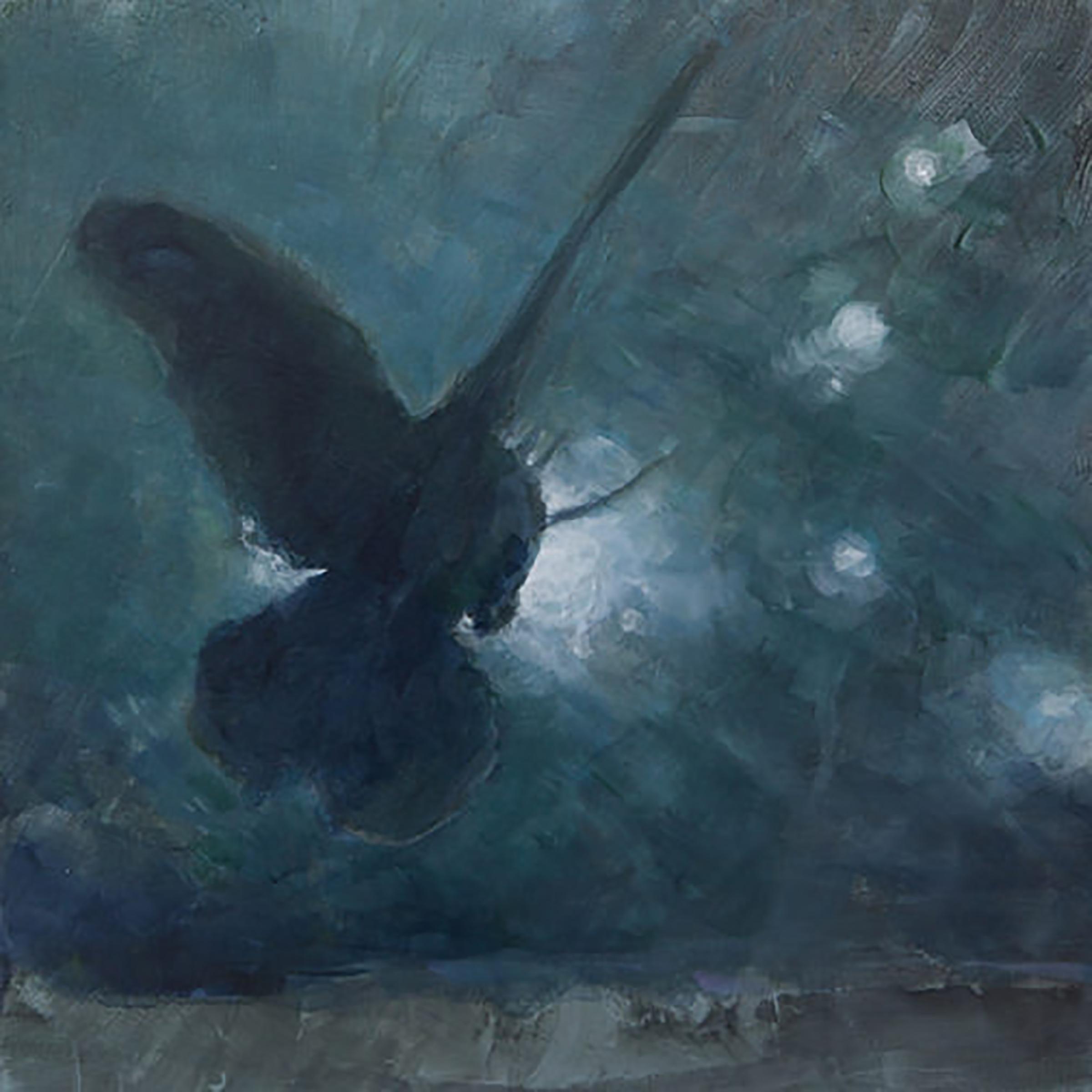 """MOTH IN LIGHT 3 ( 24X24"""") 2010"""