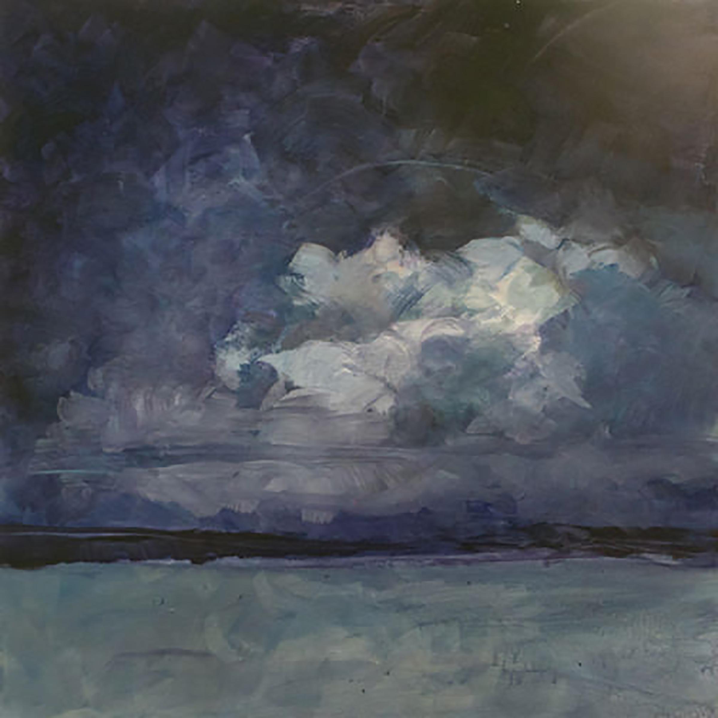 """CLOUDS 3 ( 36x36"""") 2011"""