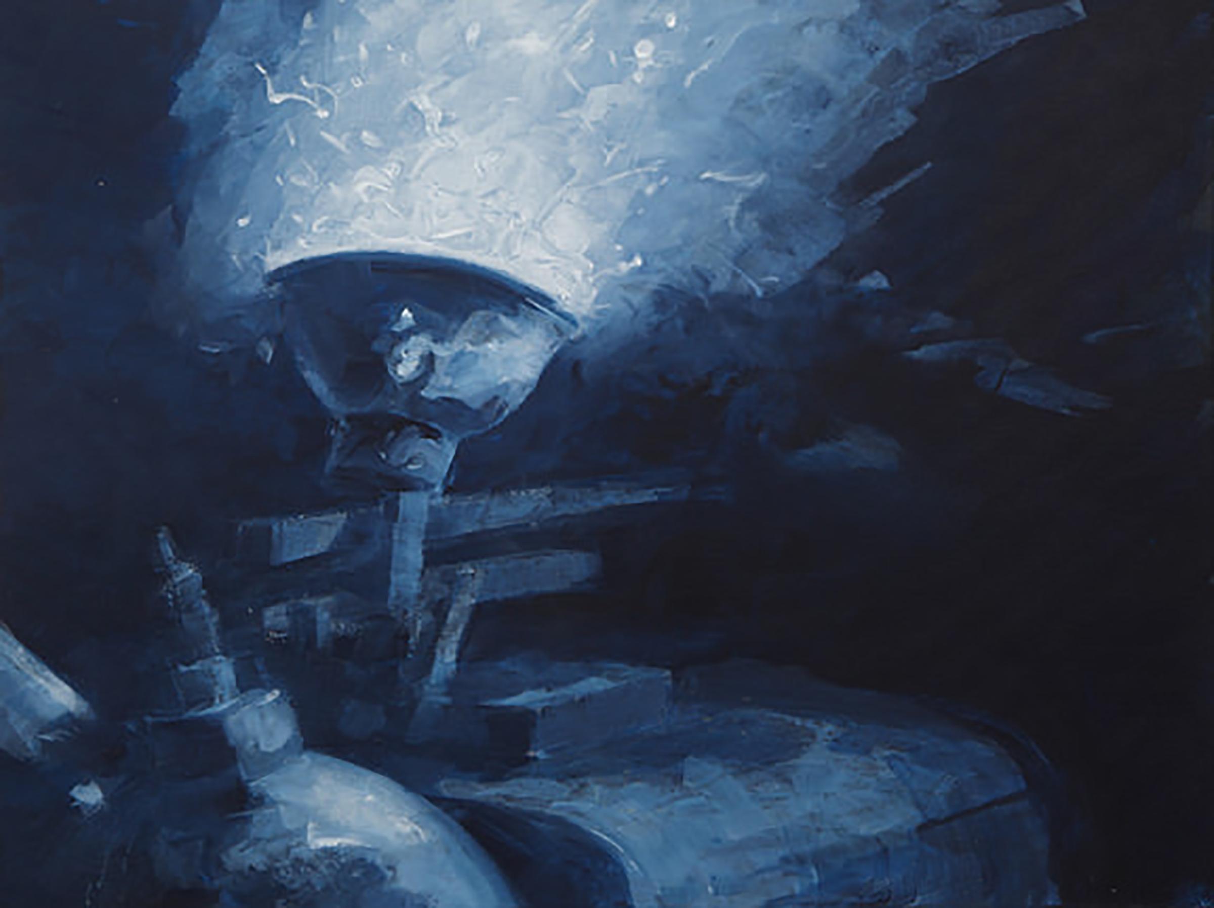 """MOTHS IN LIGHT 2 ( 18 X24"""" ) 2010"""