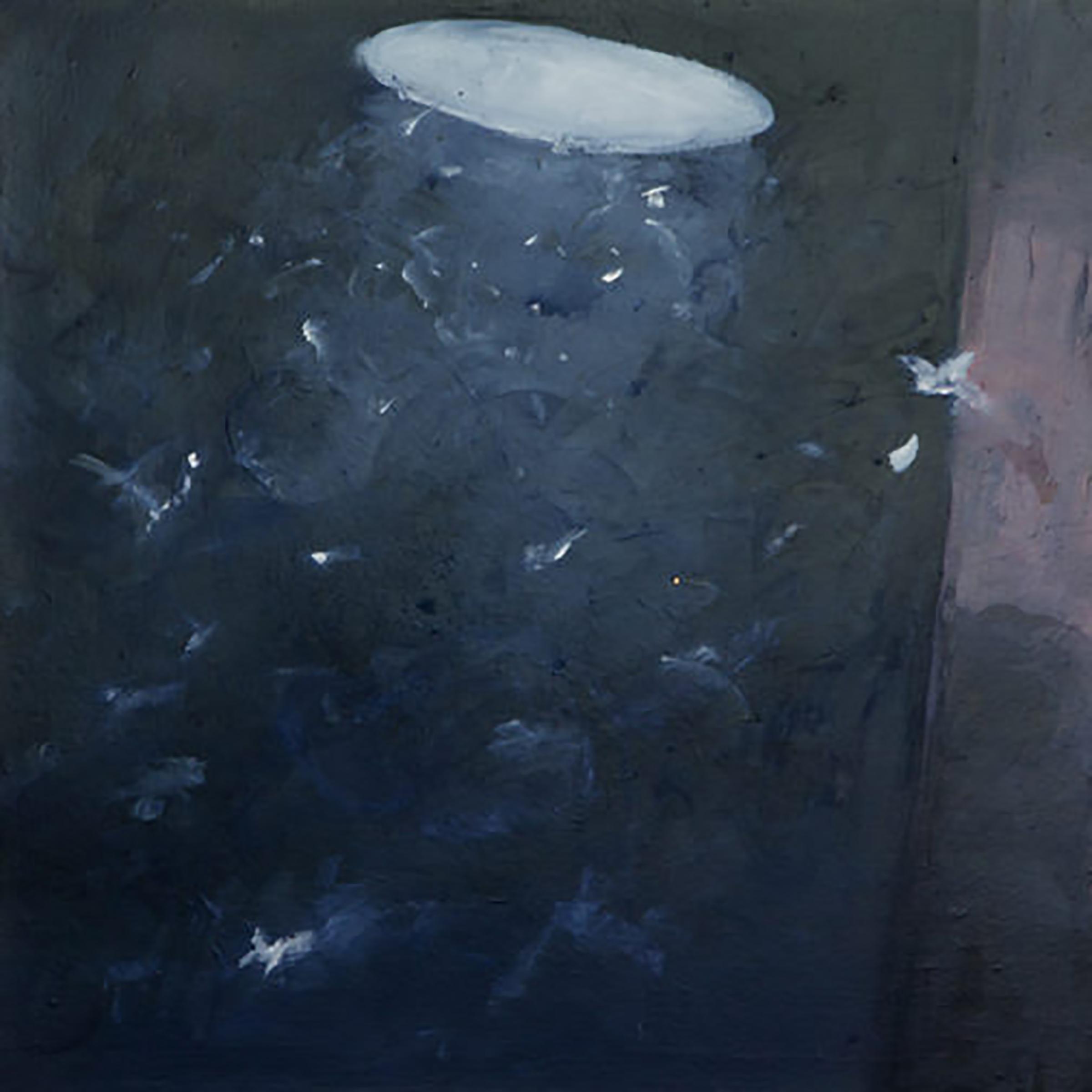 """MOTHS IN LIGHT 4 (24X24"""") 2010"""