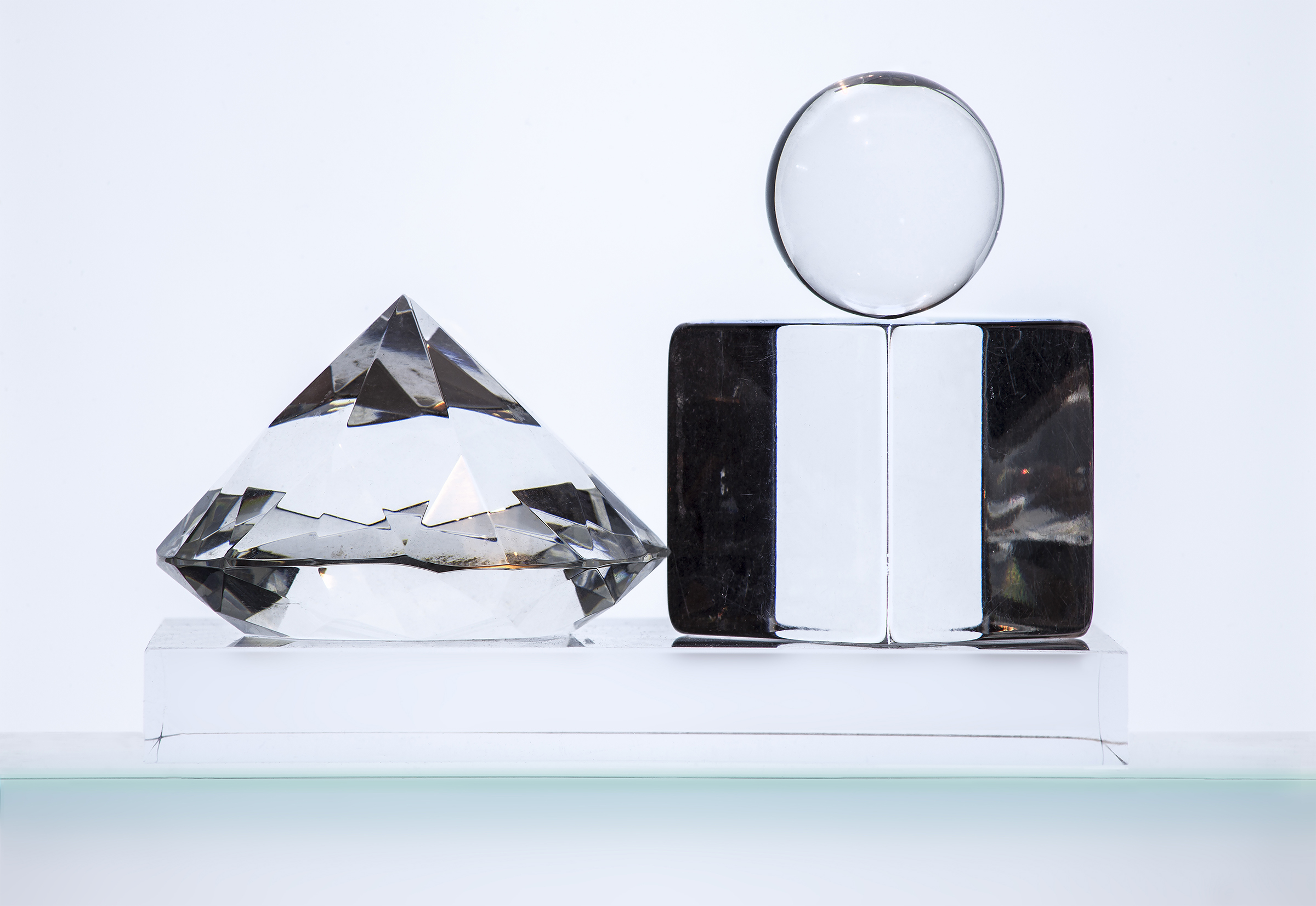 Cube Diamond and Sphere 1, 2014
