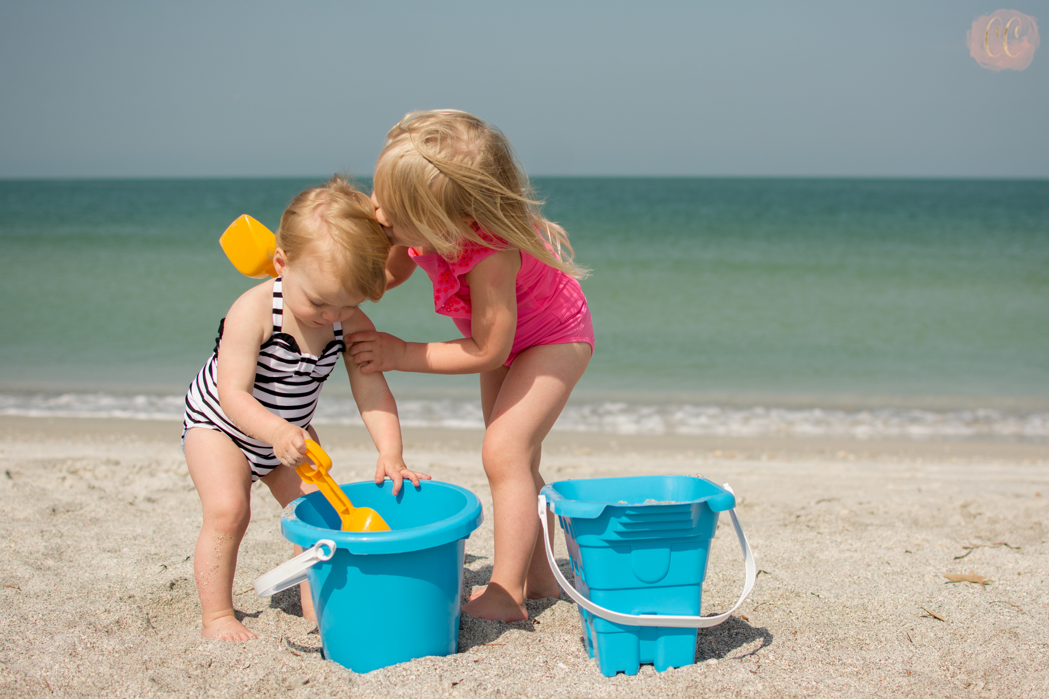 Family vacation photos at Sand Key Park,Clearwater beach by family photographer Carlie Chew Photography