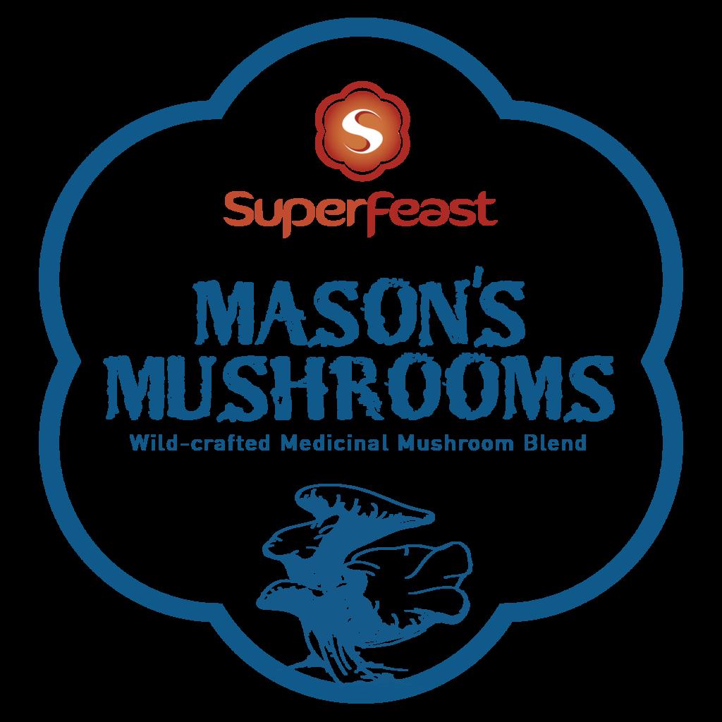 Mason's Mushrooms Powdered Extract Blend   + POTENT FULL-SPECTRUM MEDICINAL MUSHROOM BENEFITS