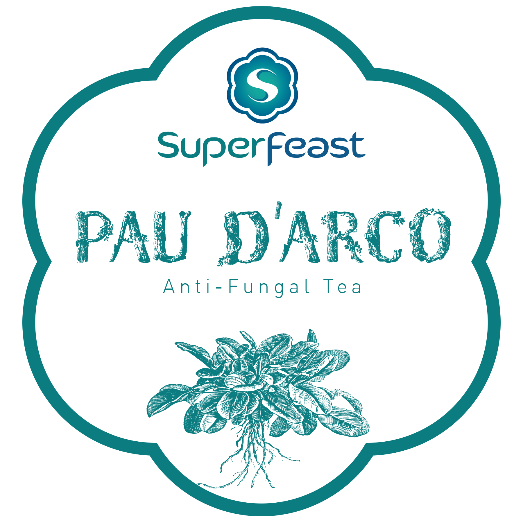 Pau D'Arco Tea 100g   +ANTI-FUNGLA TONIC TEA    +