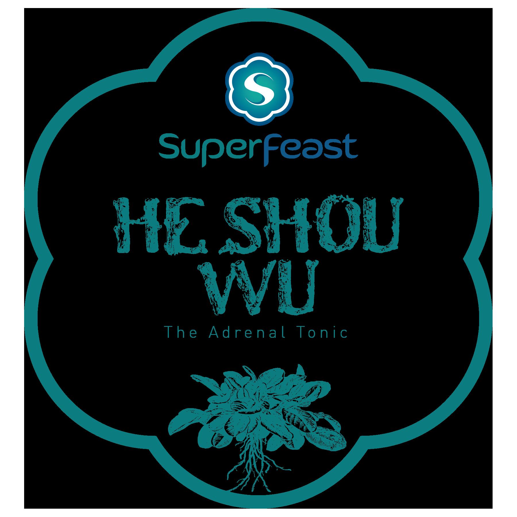 He Shou Wu Root Powdered Extract   +THE ADRENAL TONIC  +