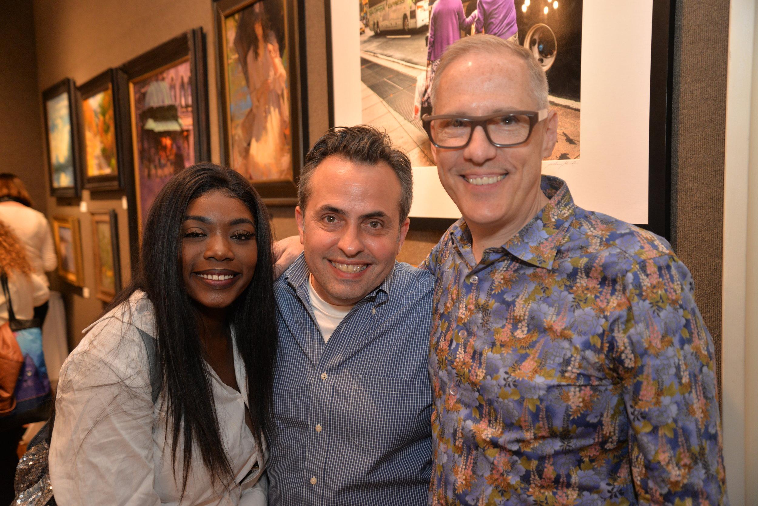 Lekiyrah, Kendall Messick, & Paul Lucas