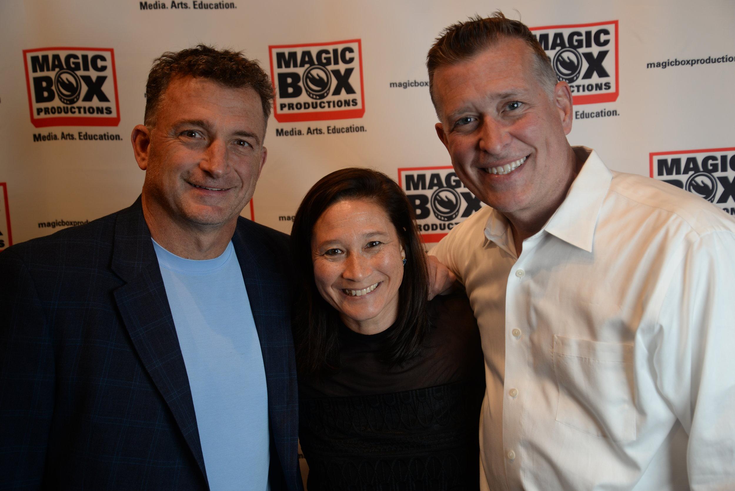 Steve Paletta, Christine Paletta, & Brett Perrine