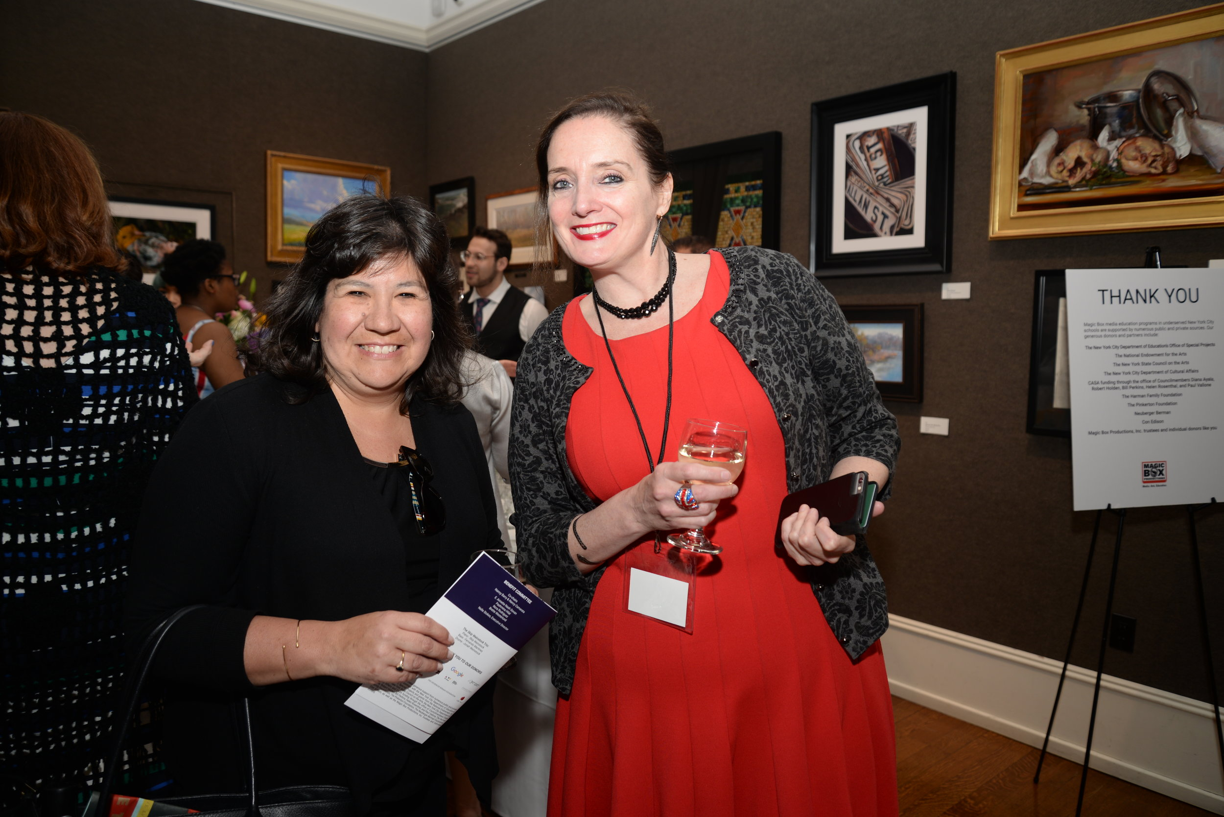 Julie Diez Berkowitz and Nancy Barry