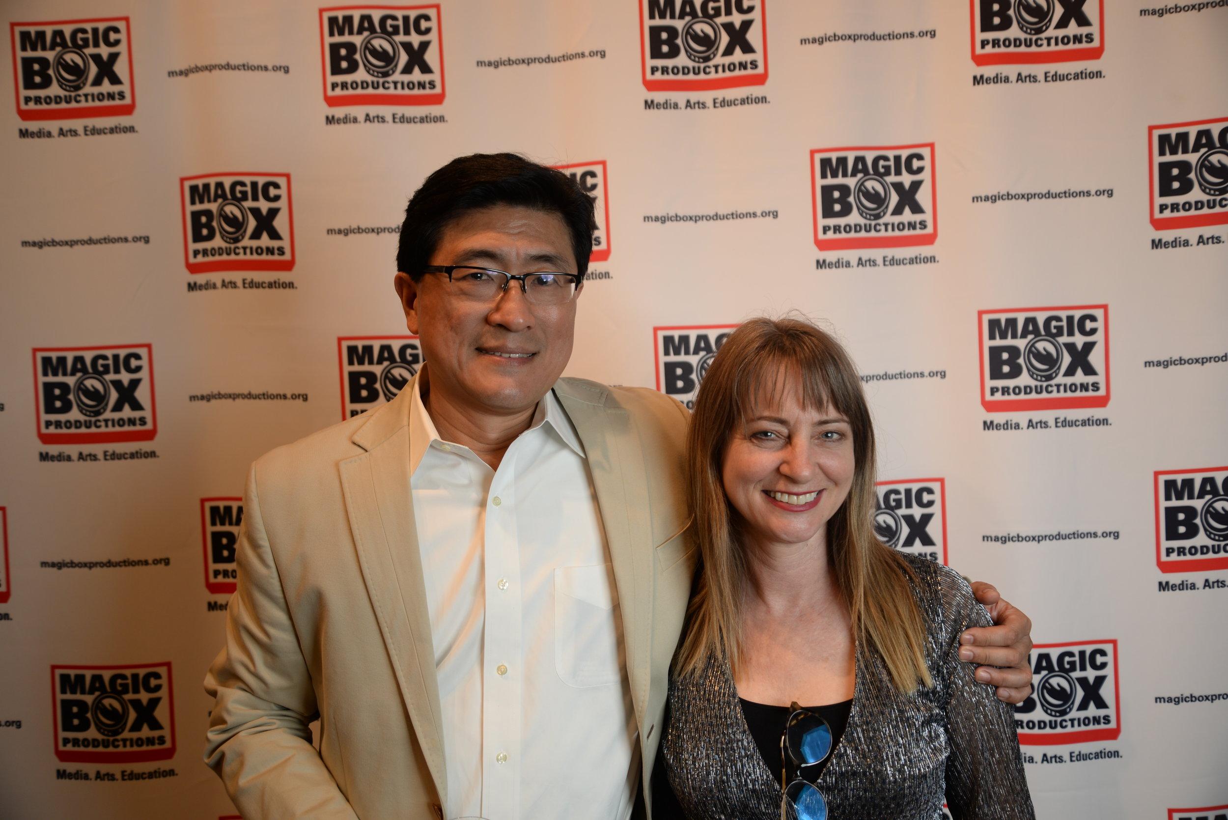 Kurt Sung and Leanna McLennan