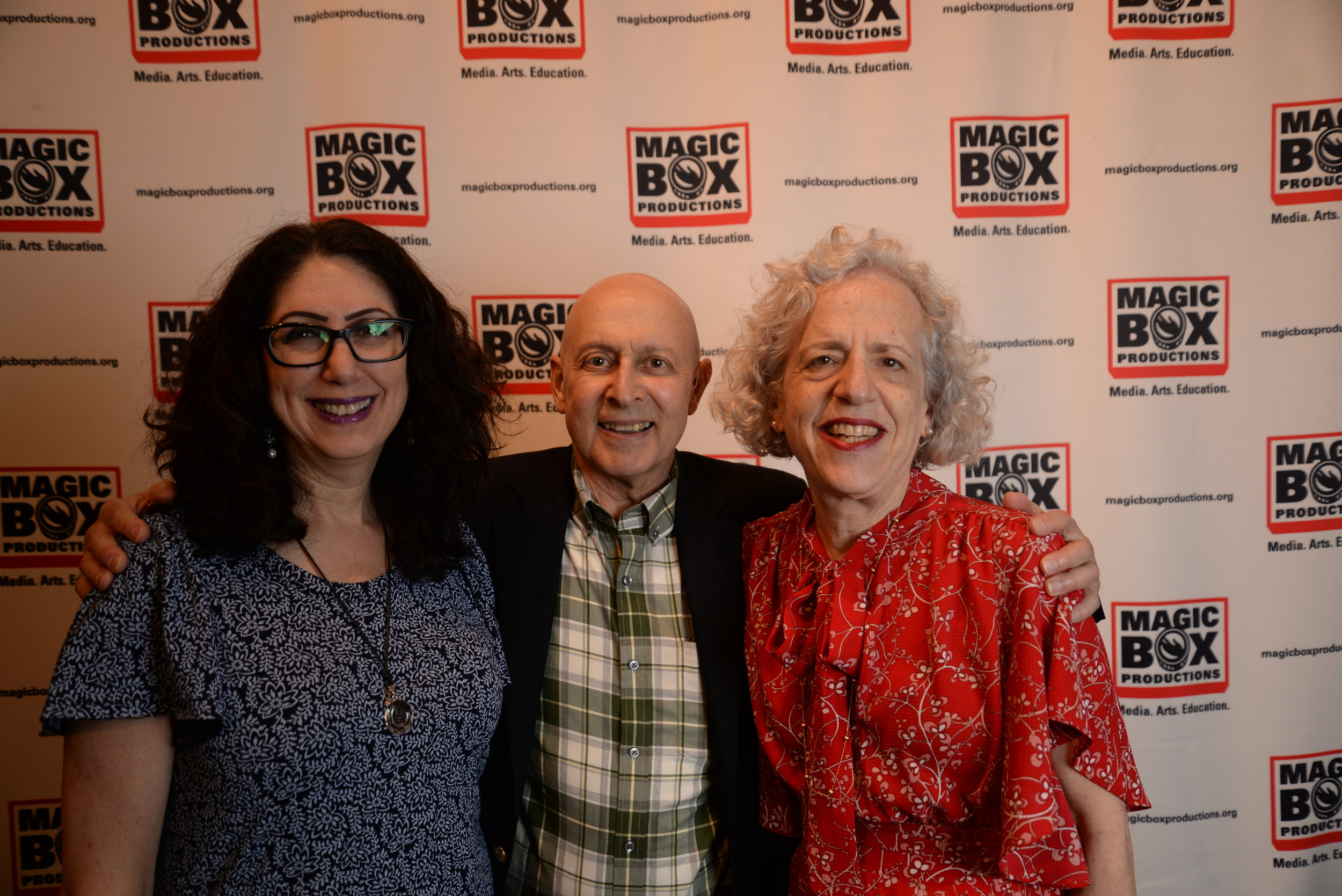 Judy Passer with Mark & Susanne Shapiro