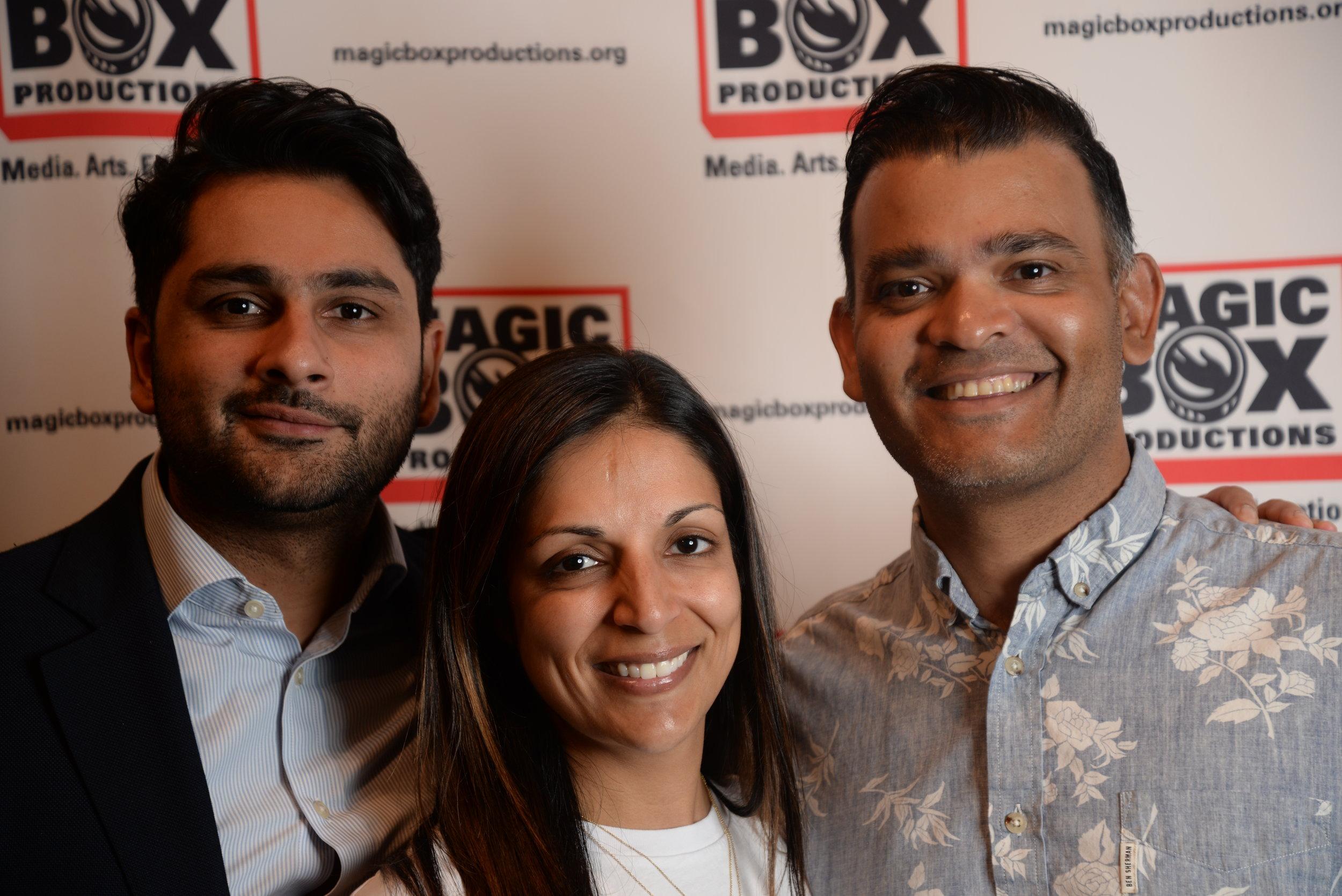 Sarfaraz Rajan, Yasmin Hilal, & Aditya Naik