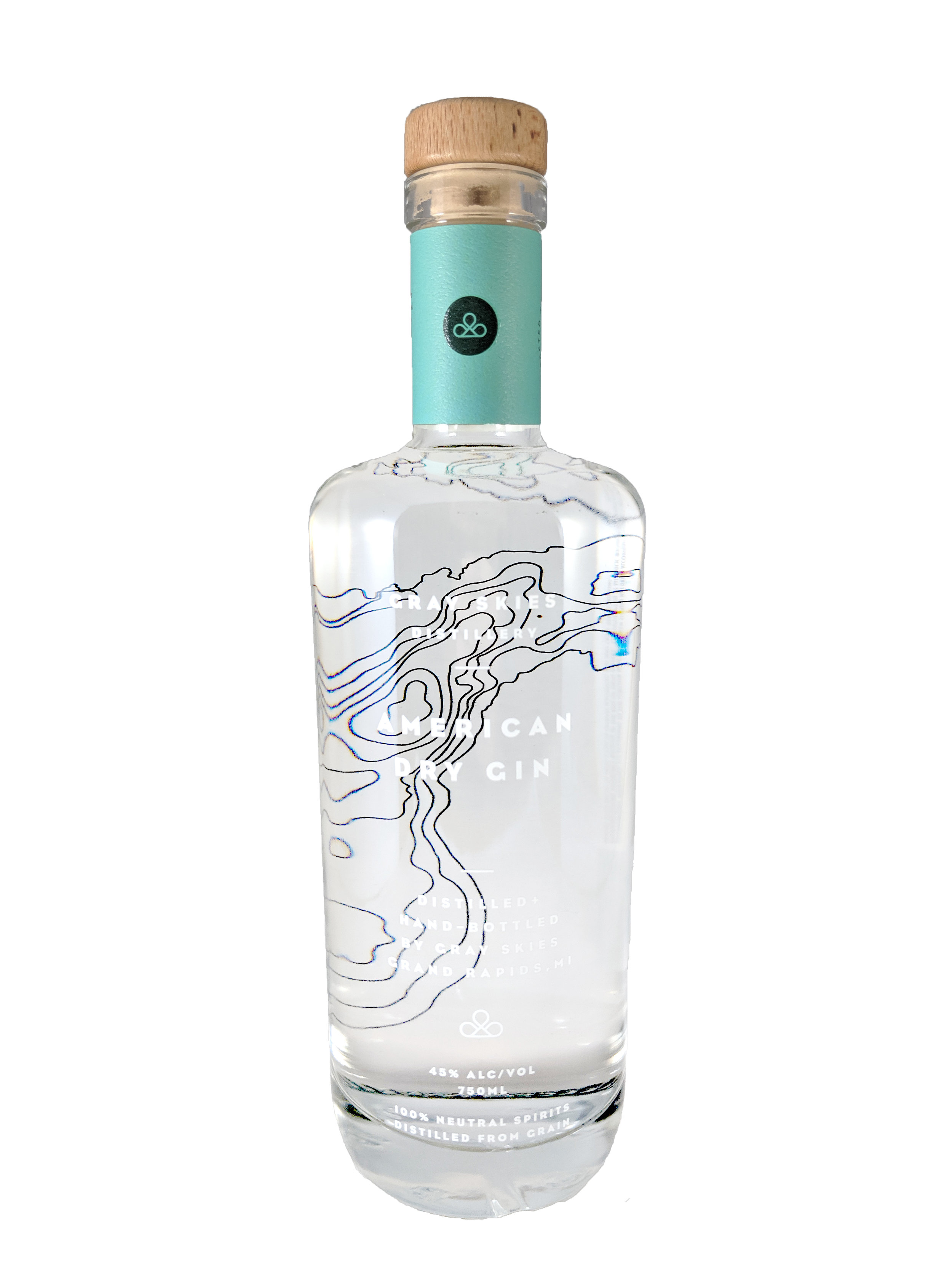 AMERICAN DRY GIN - Handcrafted in small batches American Dry Gin uses kaffir lime leaves to complement citrus peel, juniper and coriander creating a vibrant citrus fragrance and intriguing flavor.  Black pepper and other spices mingle with and balance the citrus to deliver a dry peppery finish.