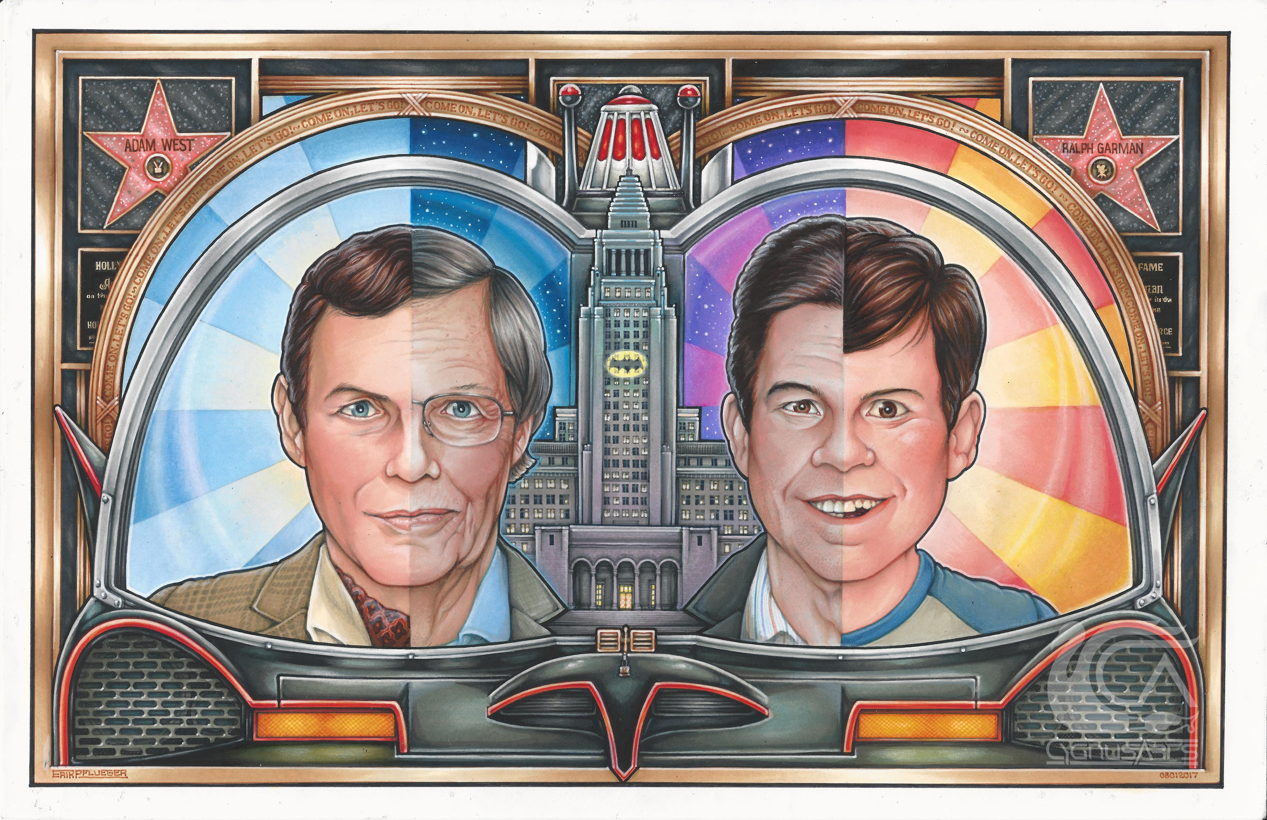 Portrait of Ralph Garman and Adam West - watermark.jpg