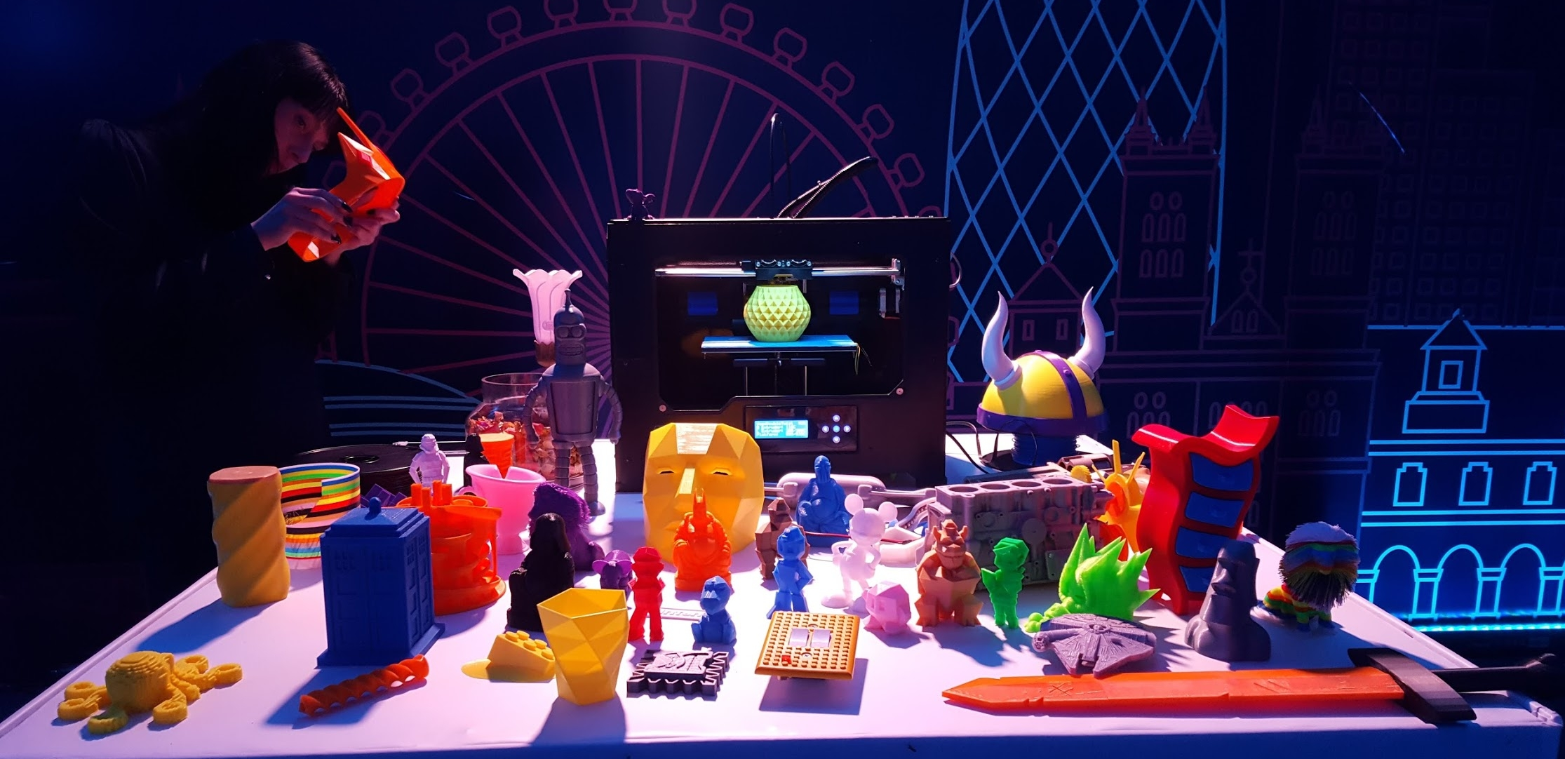 3D-printed items from the #3Dprint365 collection