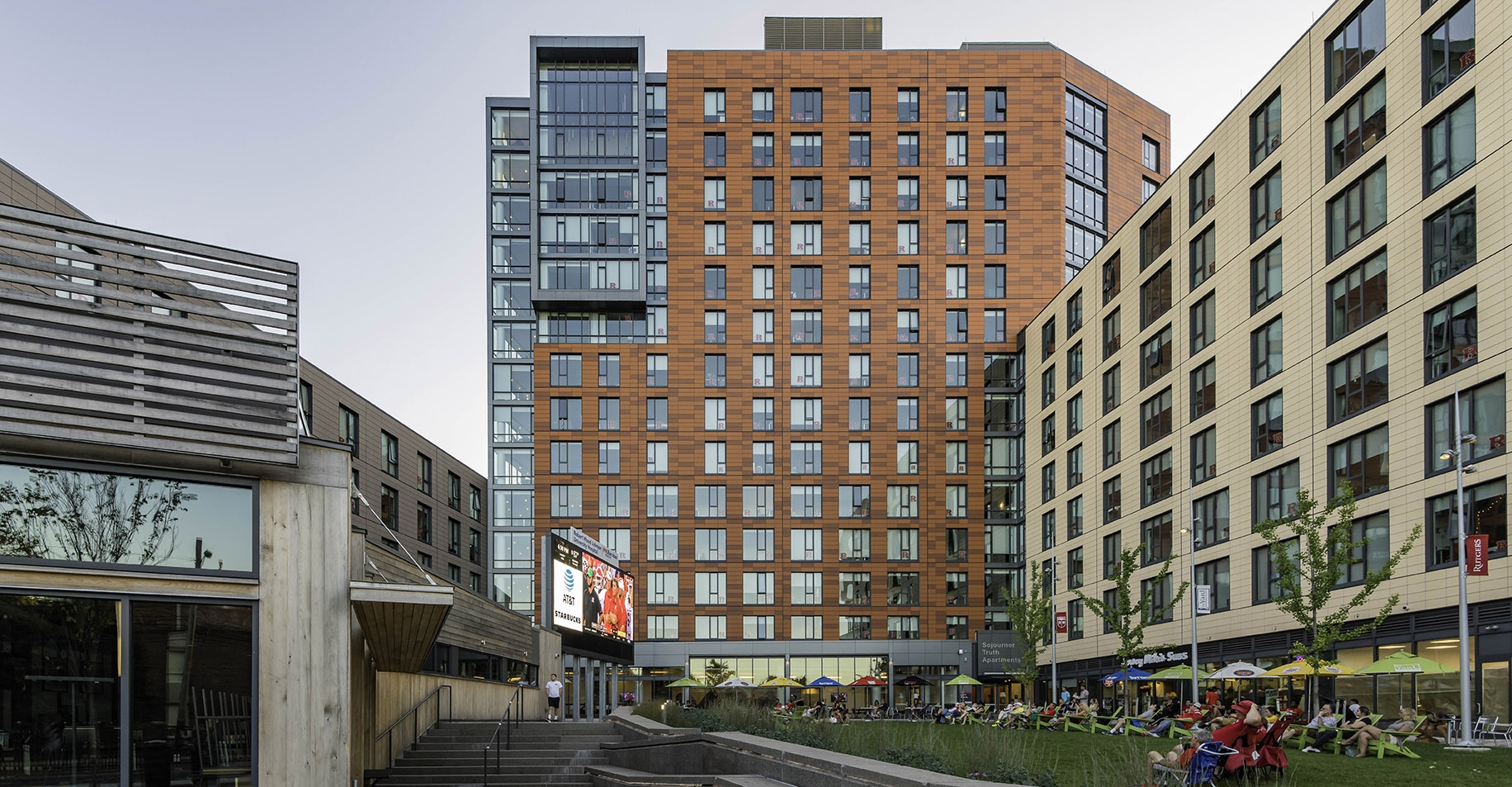 The Sojourner Apartments at Rutgers University