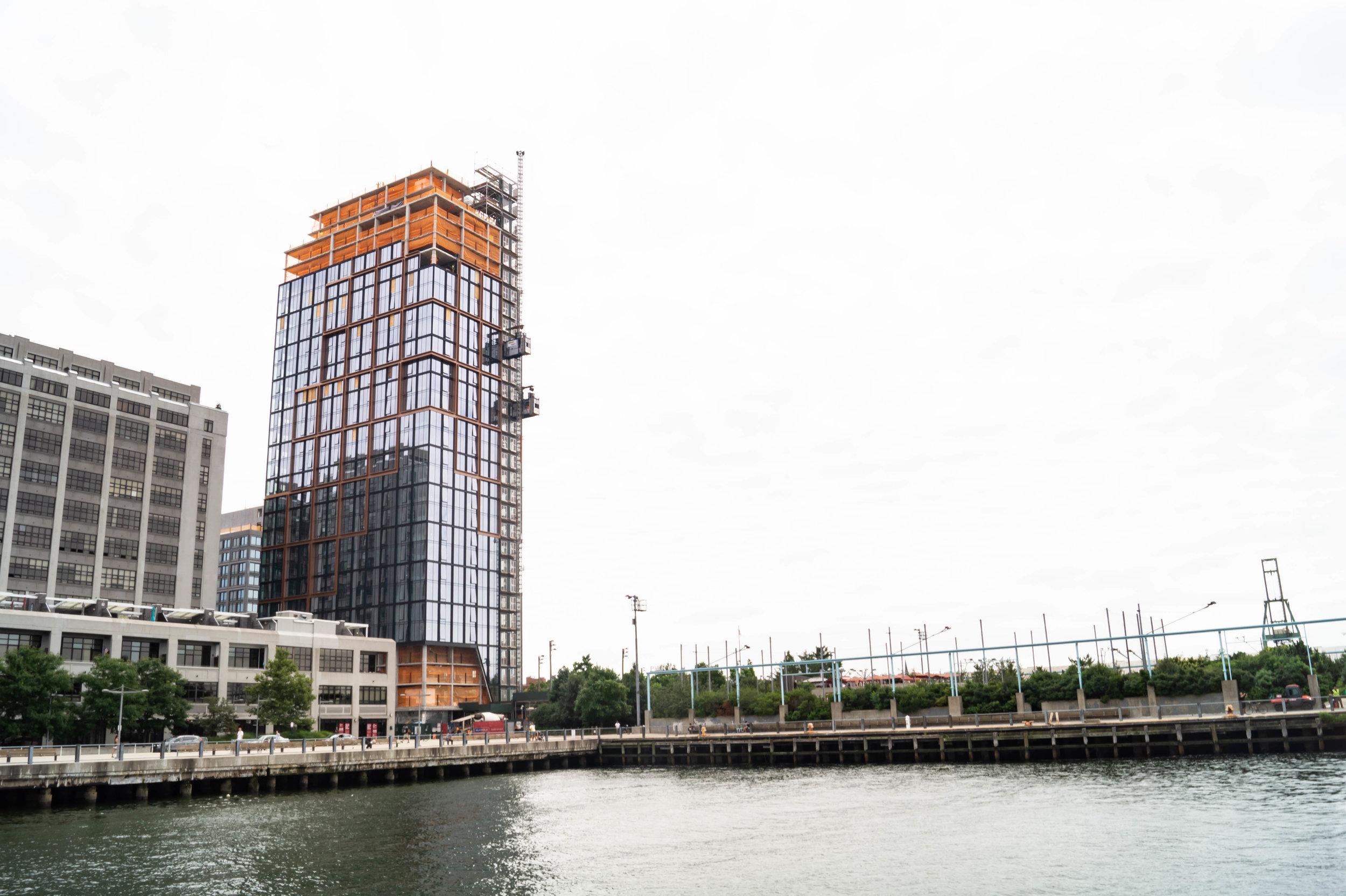 Quay Tower, Pier 6, Brooklyn