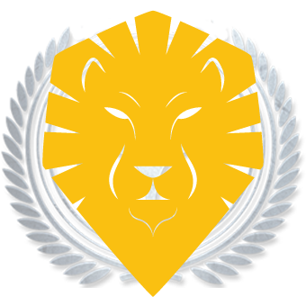 Lion Security Badge