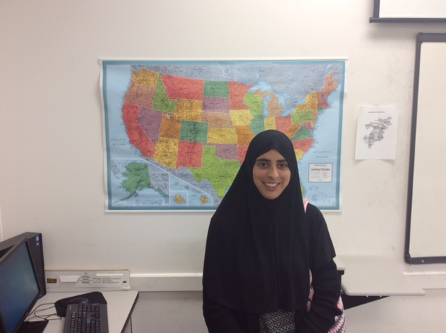Roqia Bibi is an ESOL student at the ABCD Mattapan Family Service Center.