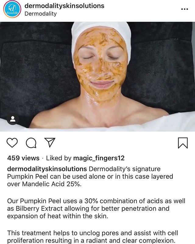 I've been using this peel for the past 10 years. It can be intensified by layering on top of many different Dermodality peels. Minimize hyperpigmentation, clogged pores, accelerate cell turnover and even safe for rosacea skin. Book online today for a customized facial and let #PureSugarHB treat your skin 💫
