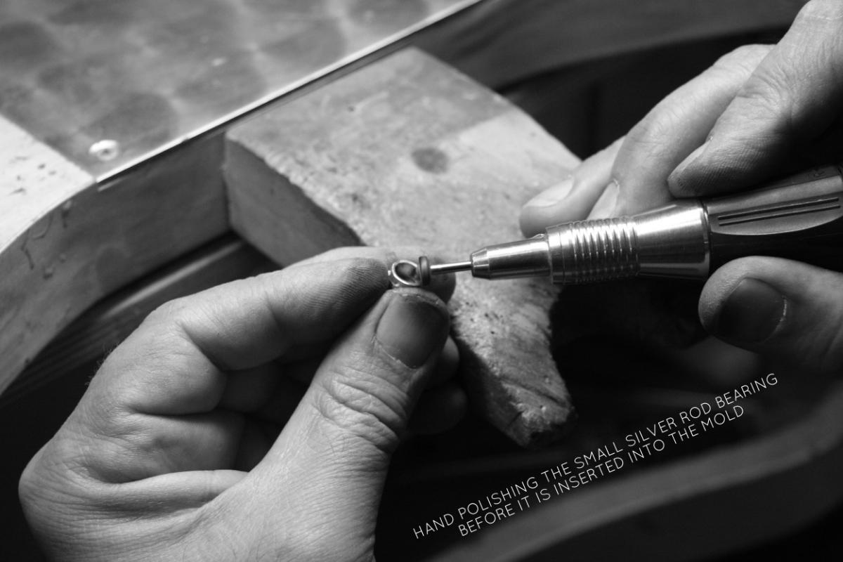 polishing the bearing.jpg