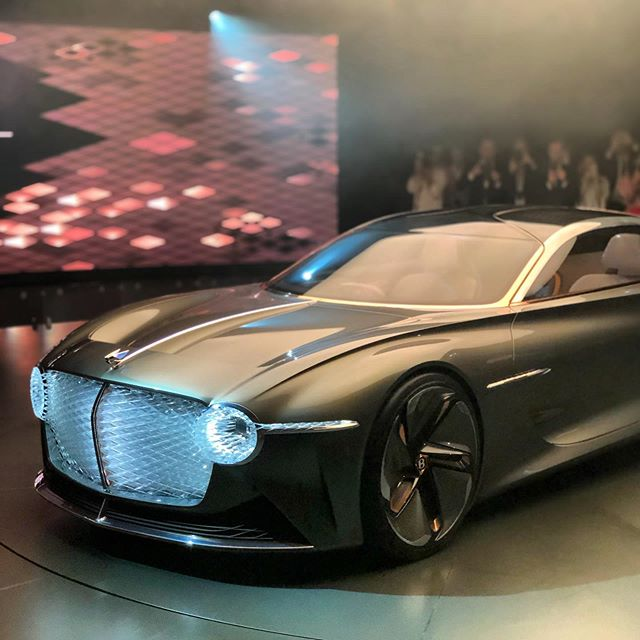Grateful to have been invited to Crewe today to see Bentley's mighty impressive vision of future GT touring.