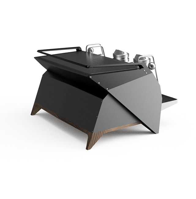 """Busy office just now. Files for this SERIOUS bespoke @lamarzocco.usa Strada AV head over to @pantechnicondesign to begin work today. Client wanted """"no bedazzling! No curvy lines"""". This will eventually reside in Long Beach, California."""