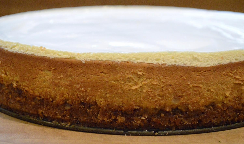Gourmet's Pumpkin Cheesecake