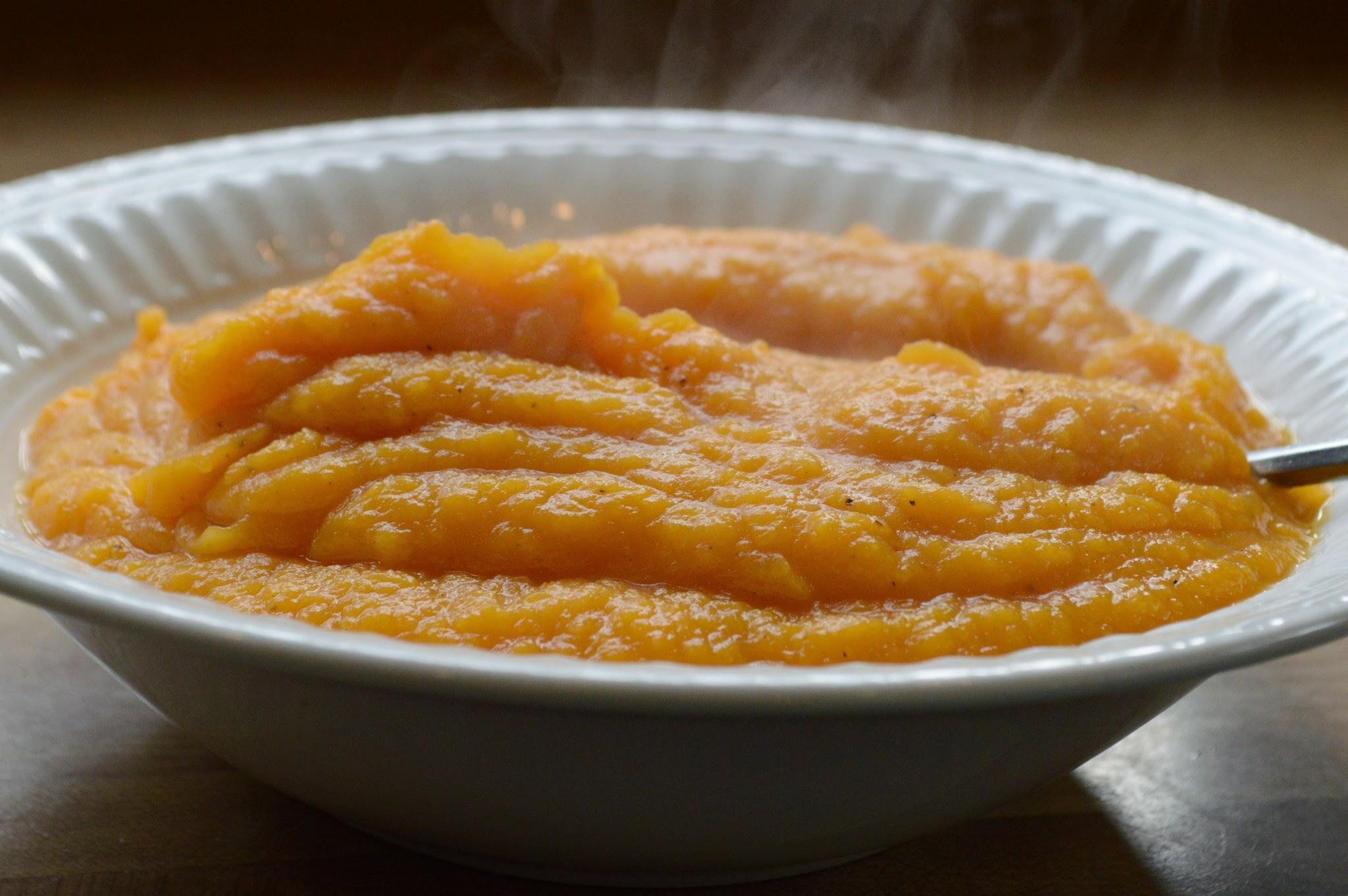 Maple Squash Puree