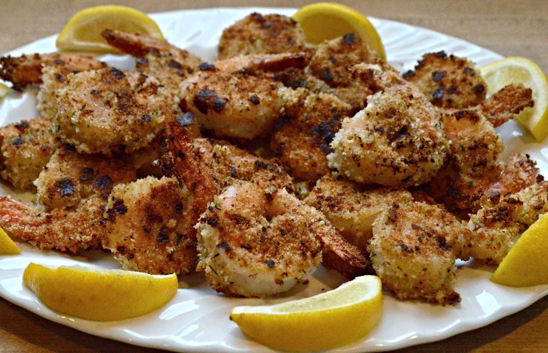 Breaded Shrimp-Lightened Up