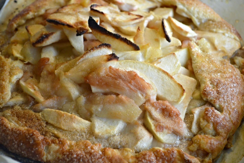 Apple Pear Crostada