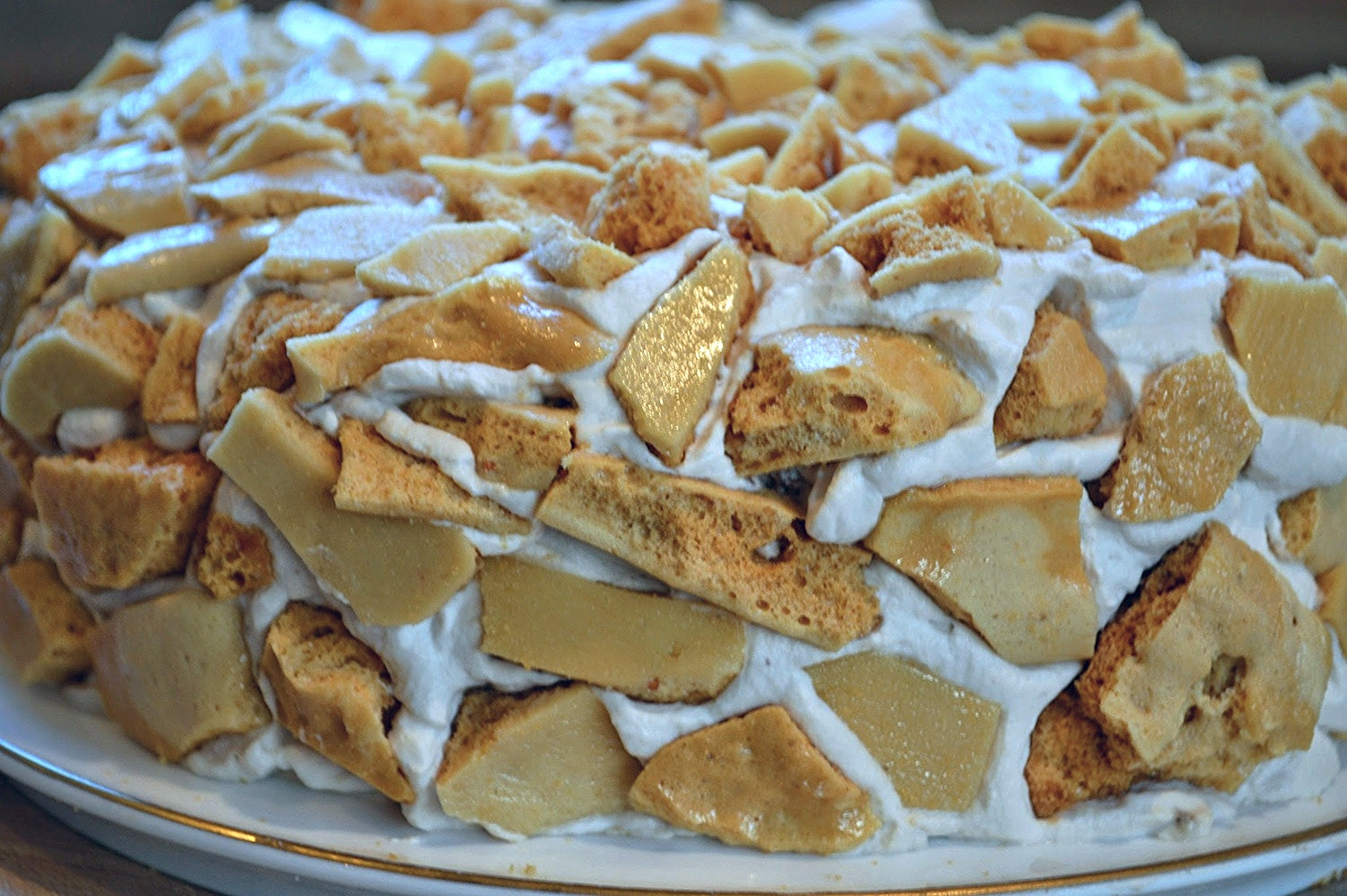 Sweet's Coffee Crunch Cake-Famous Fridays