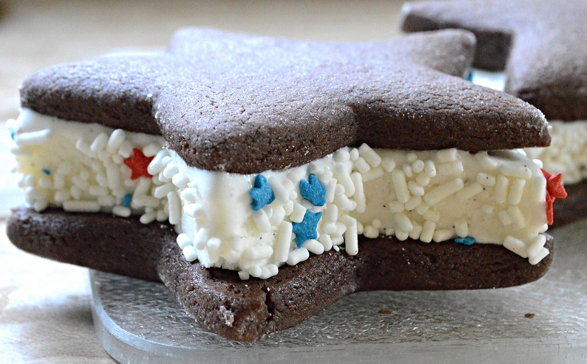 Star ice Cream Sandwiches