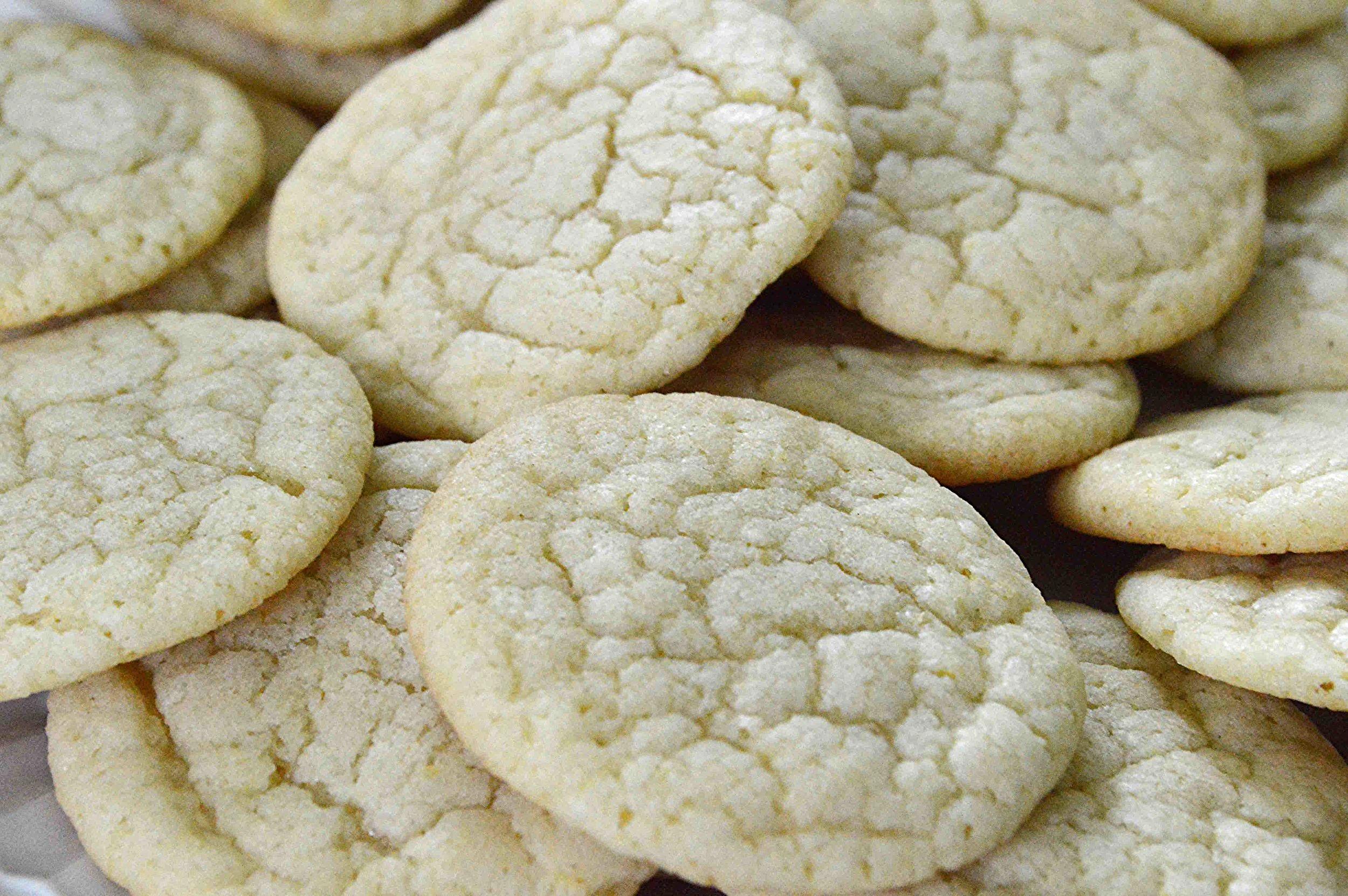 Lick The Bowl Good's Lemon Cookies-Famous Fridays