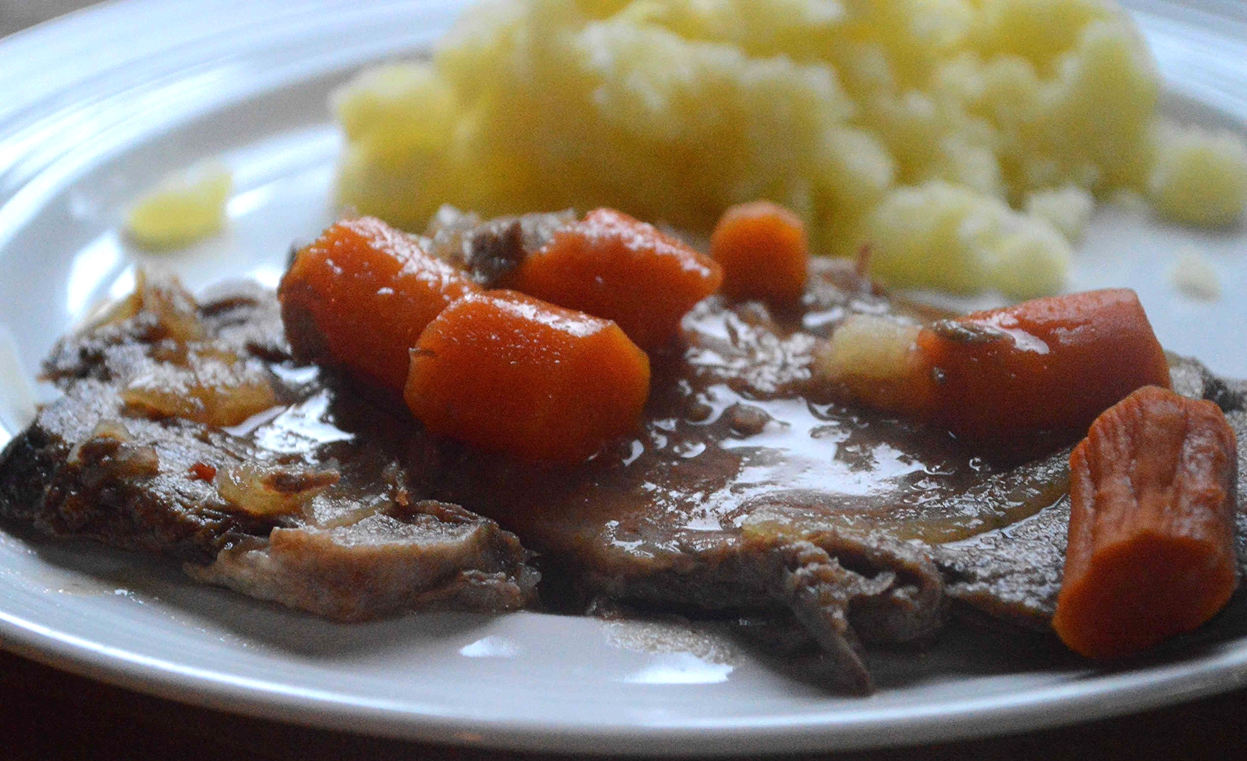 Easy Sweet and Sour Pot Roast