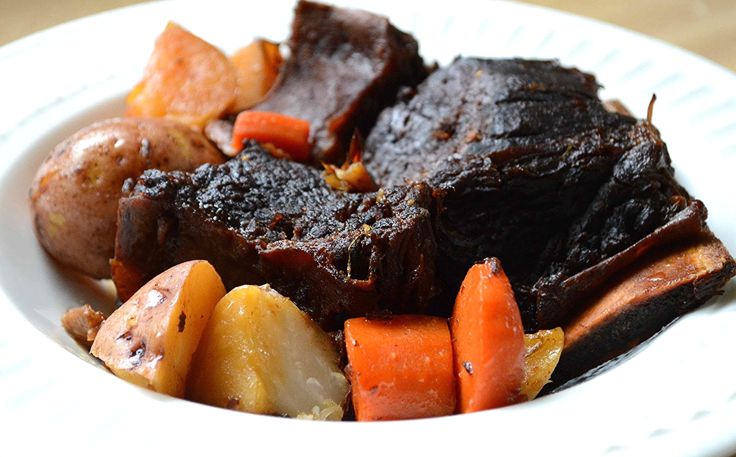 Amazing Soy-Braised Short Ribs