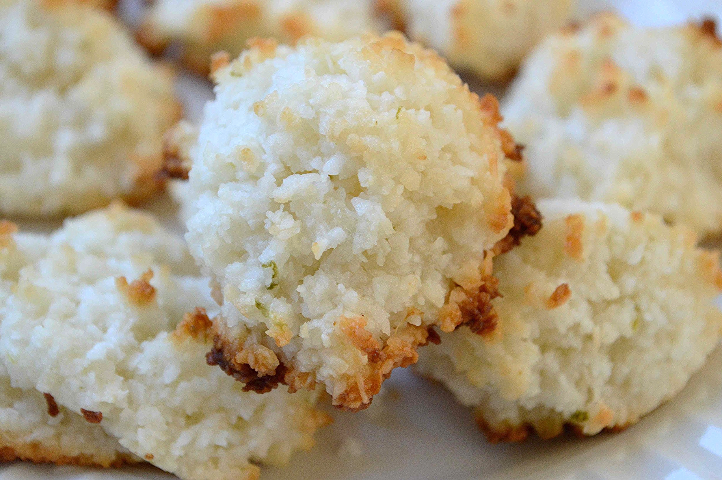Coconut Lime Macaroons