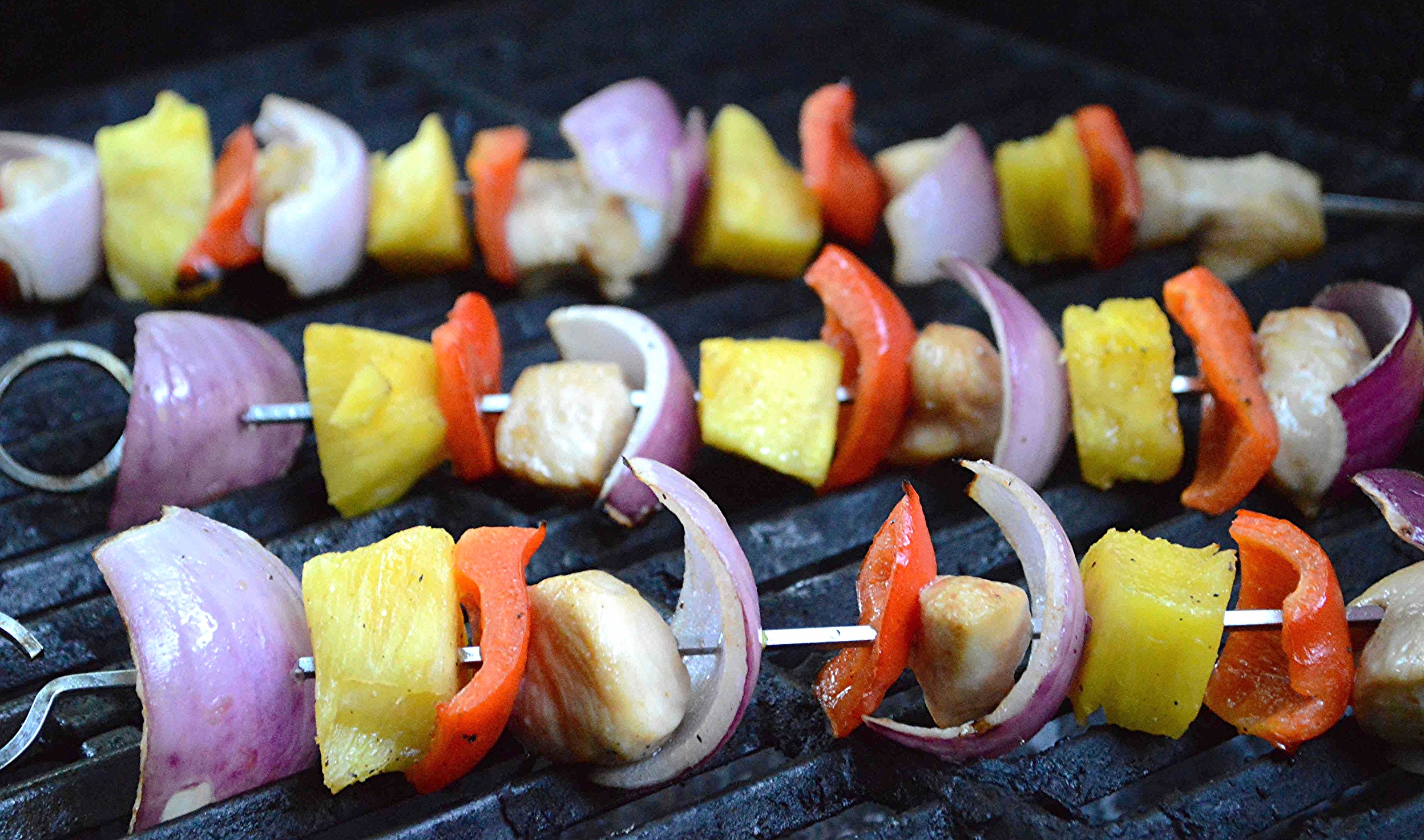 Pineapple Chicken Kabobs