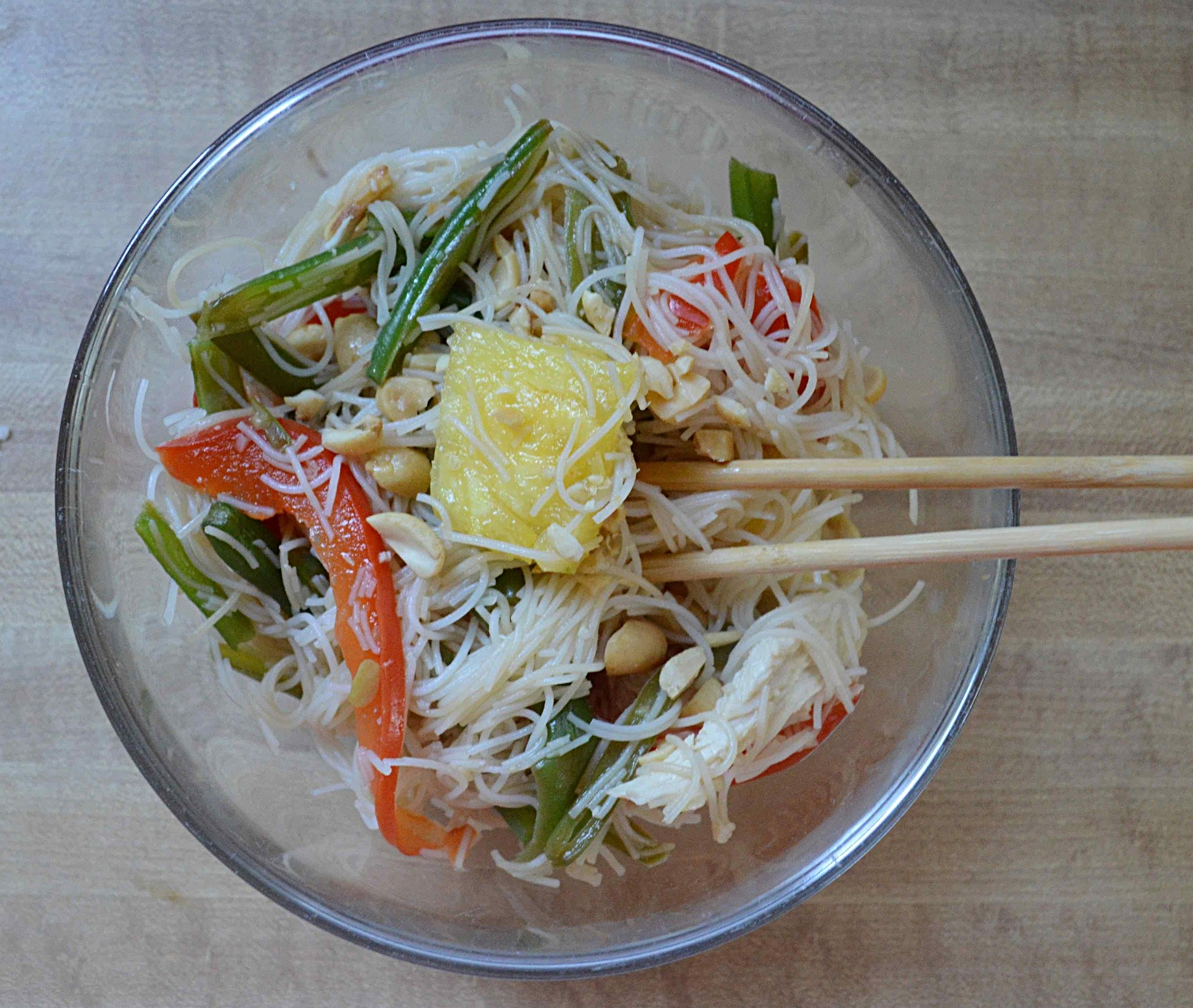 Pineapple Chicken Noodle Bowl