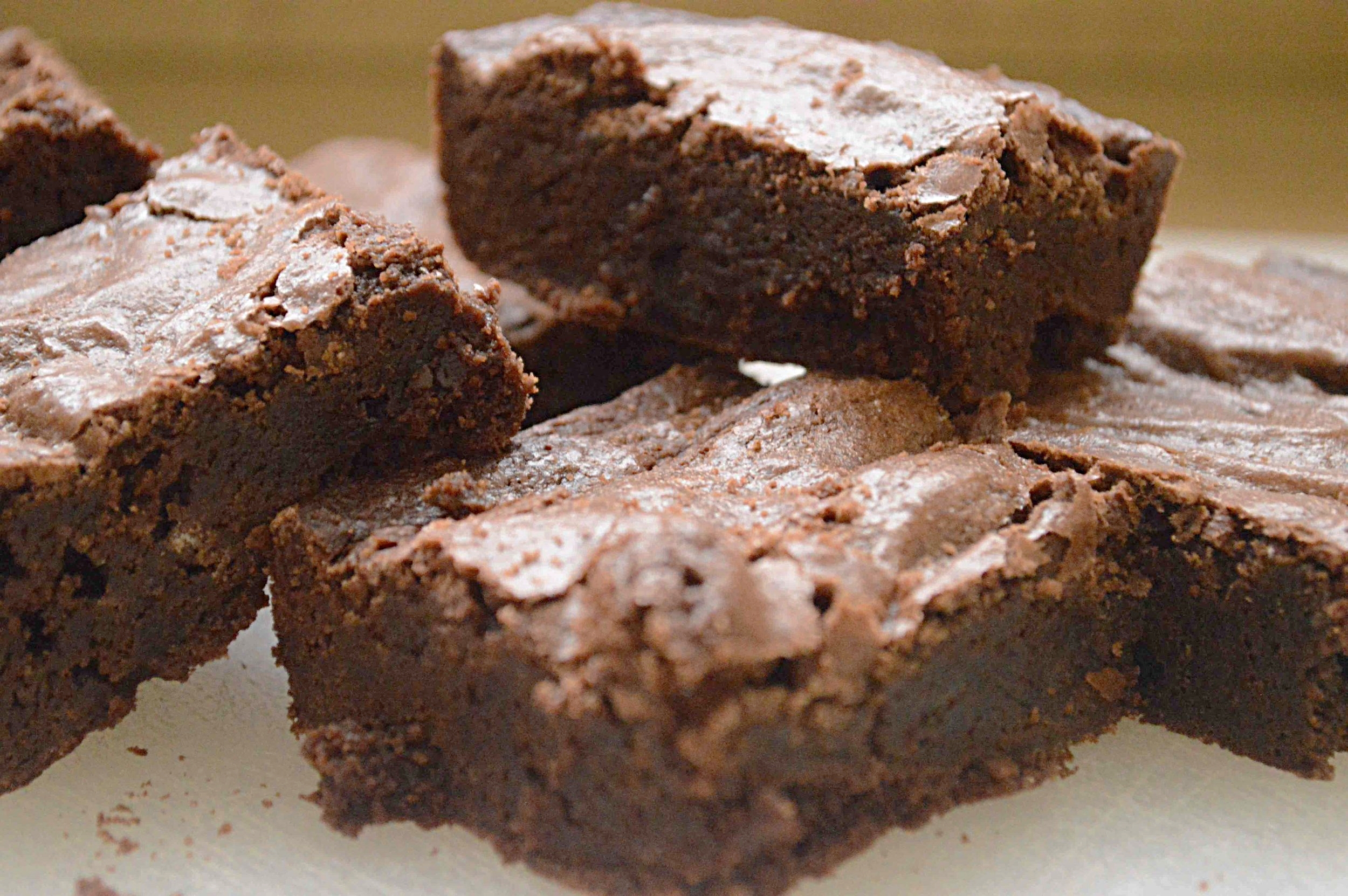 Almost One Bowl Brownies