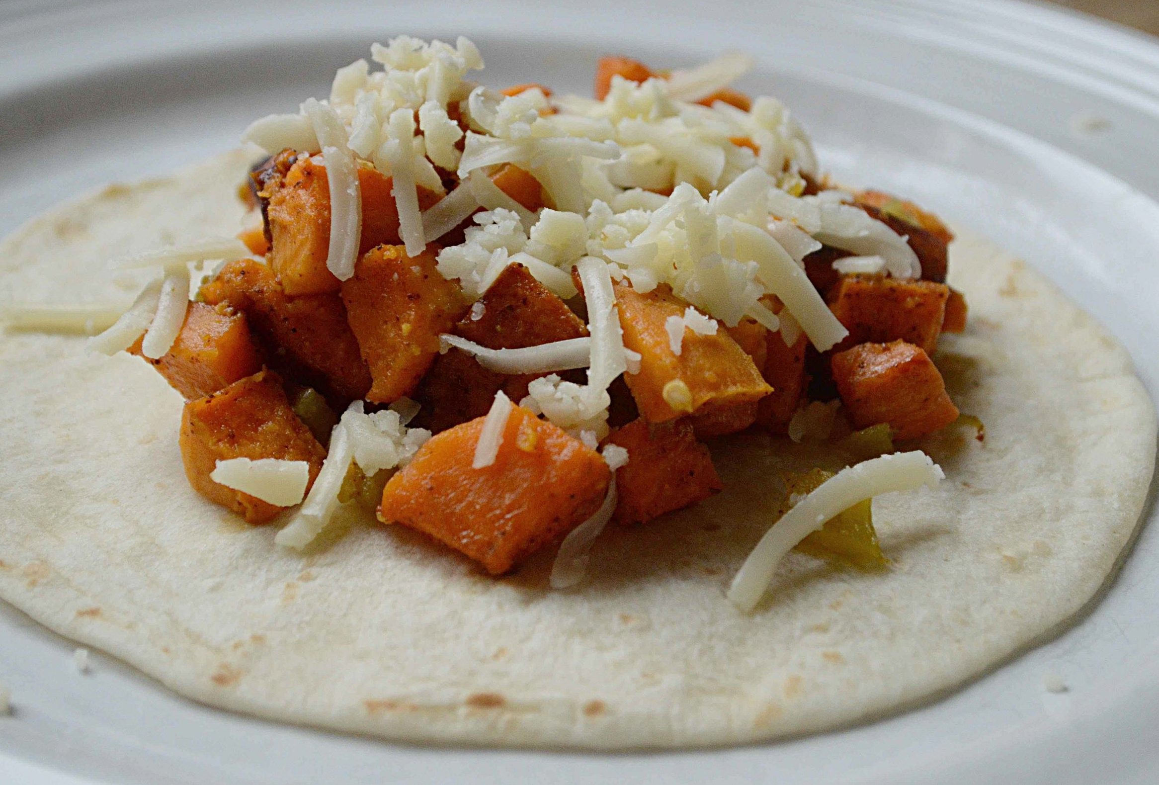 Weeknights Spicy Sweet Potato Tacos