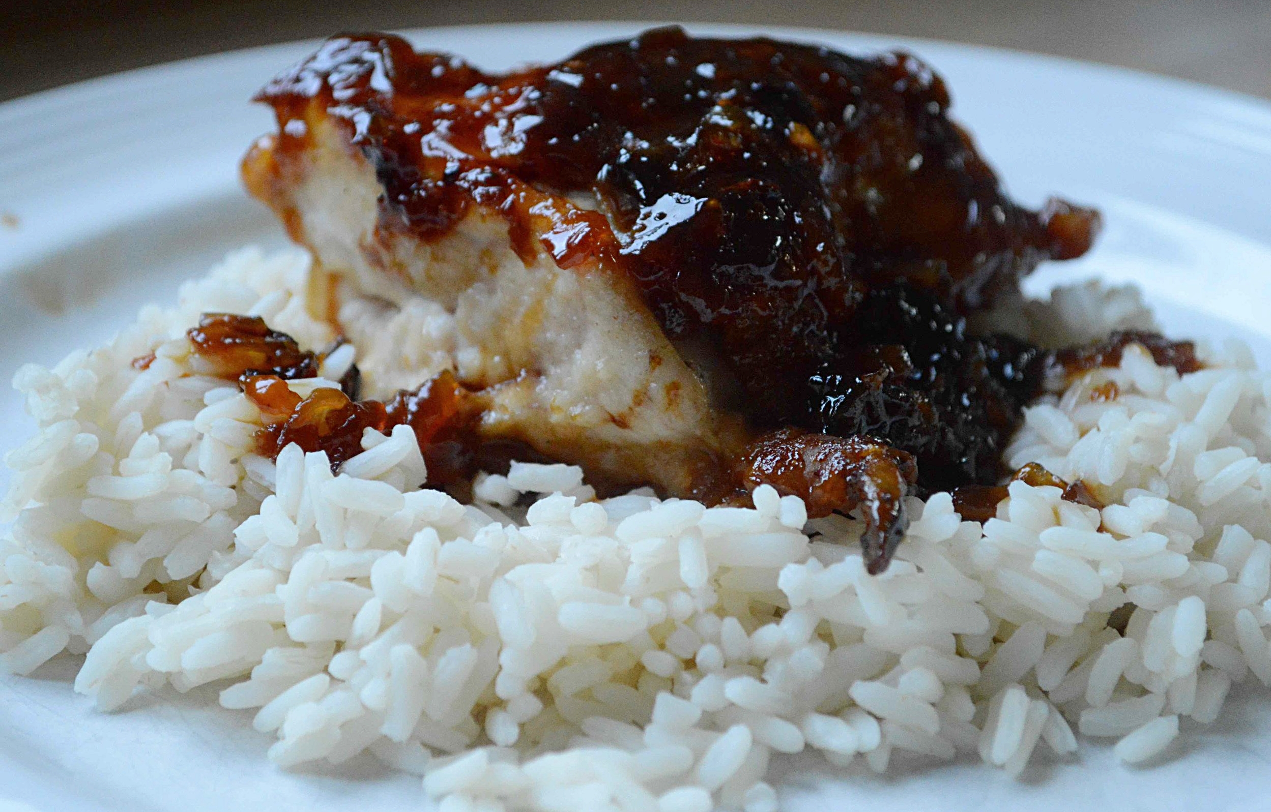 Maple-Apple Glazed Chicken Breasts